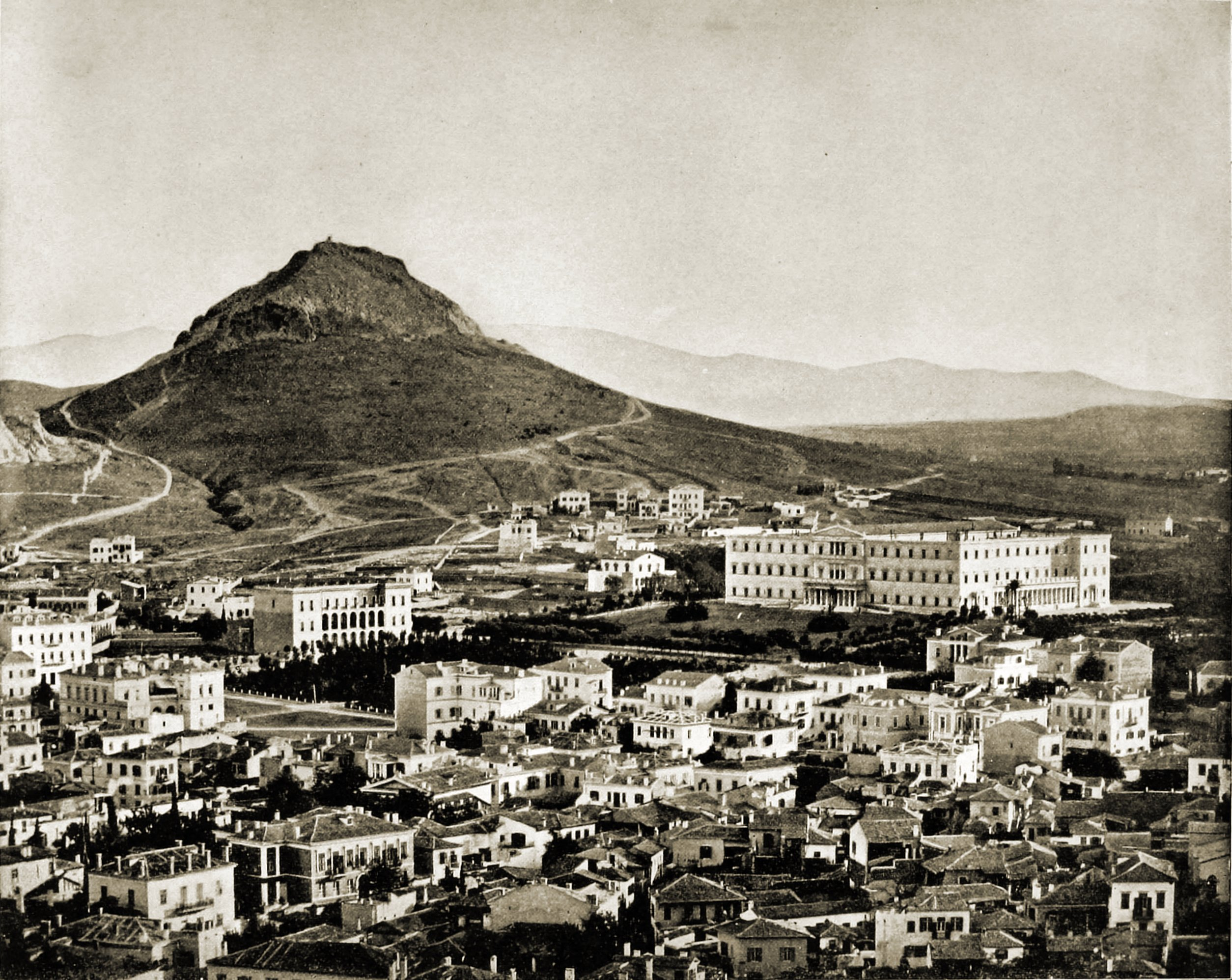 Athens Greece about 1892