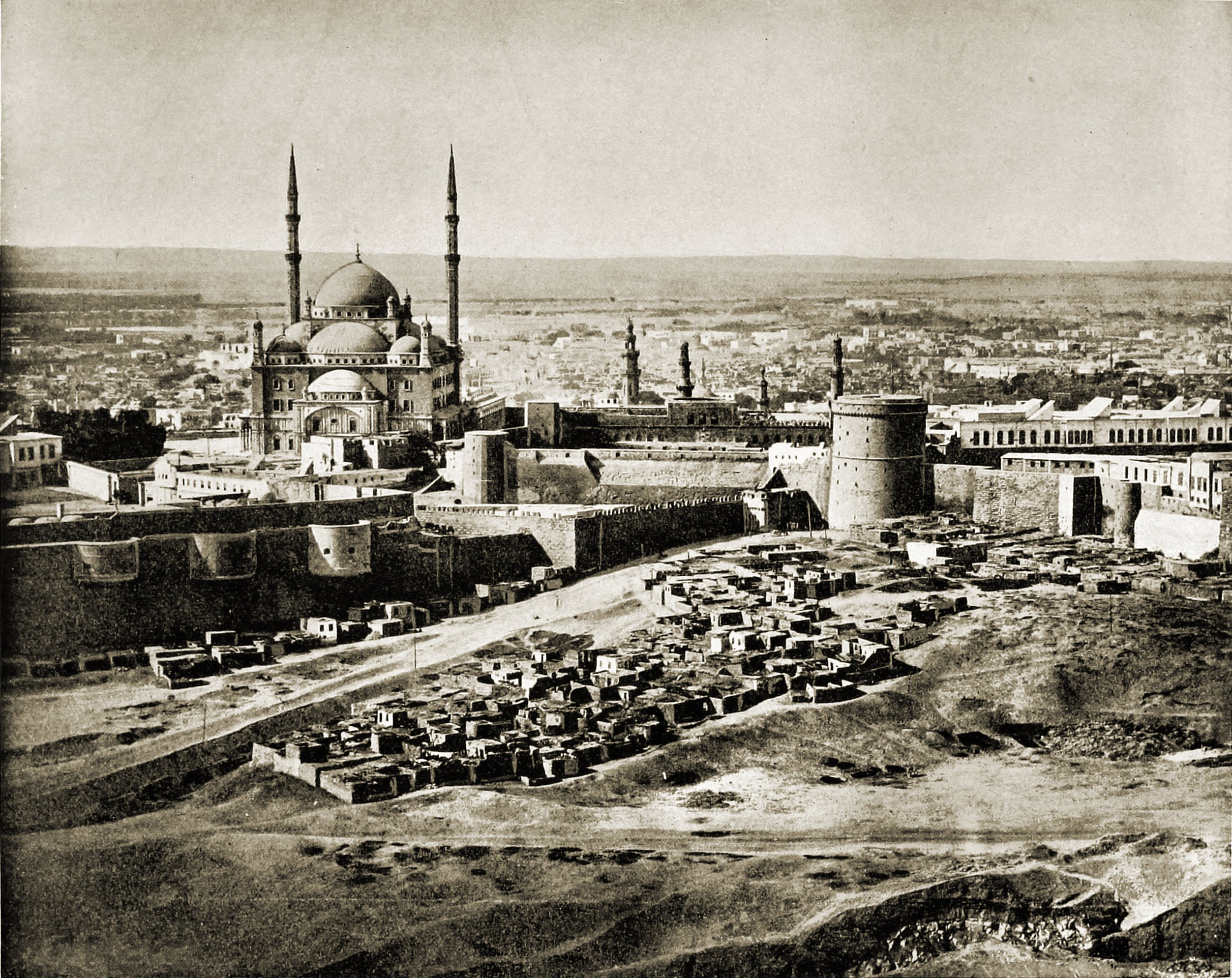Cairo Citadel Egypt about 1892