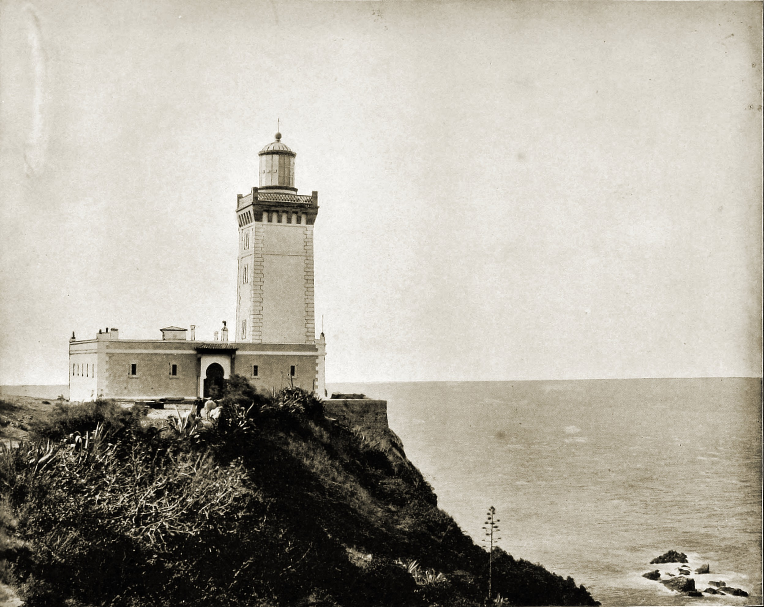 Cape Spartel Tangier Morocco about 1892