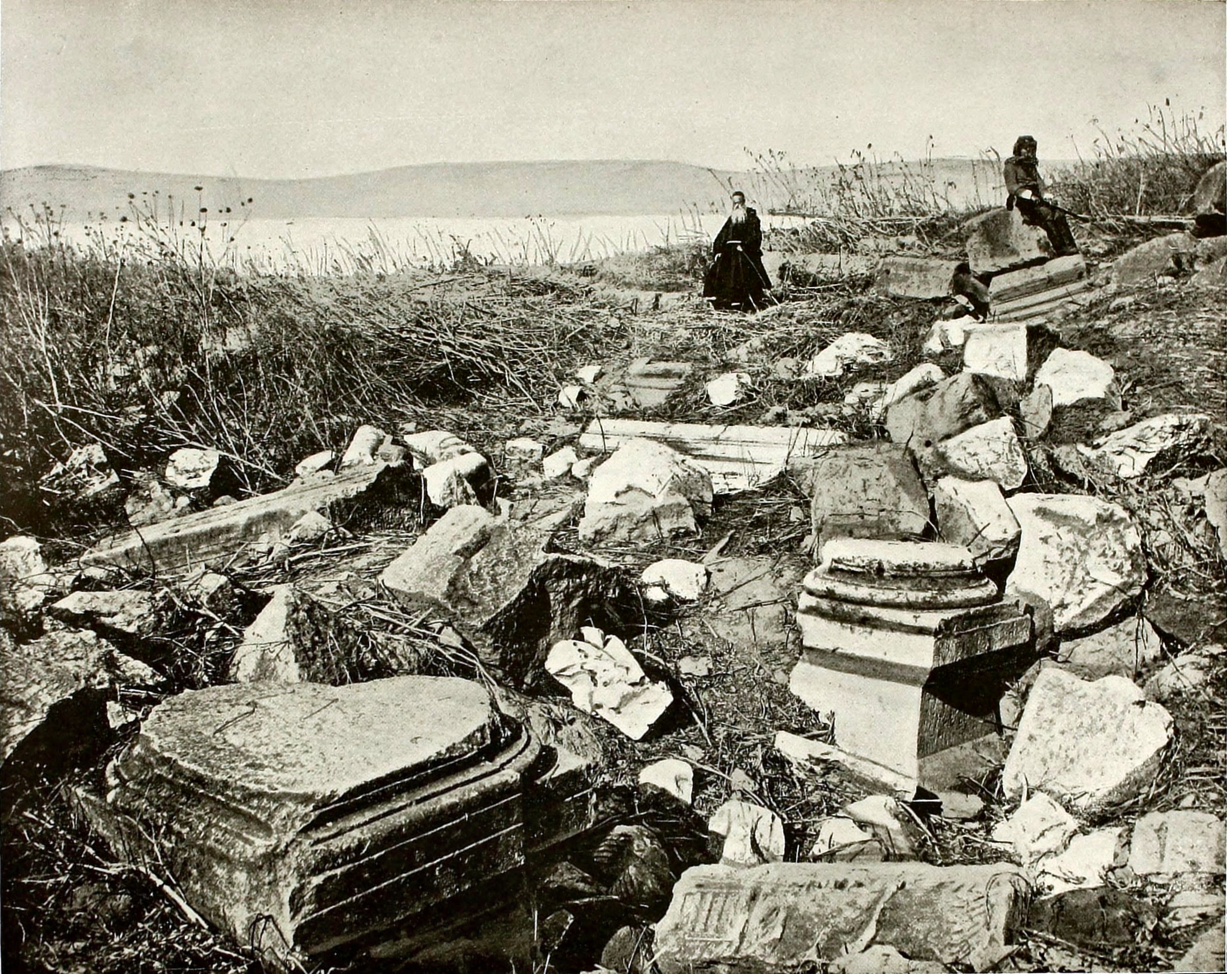 Capernaum, Sea of Galilee Israel about 1892