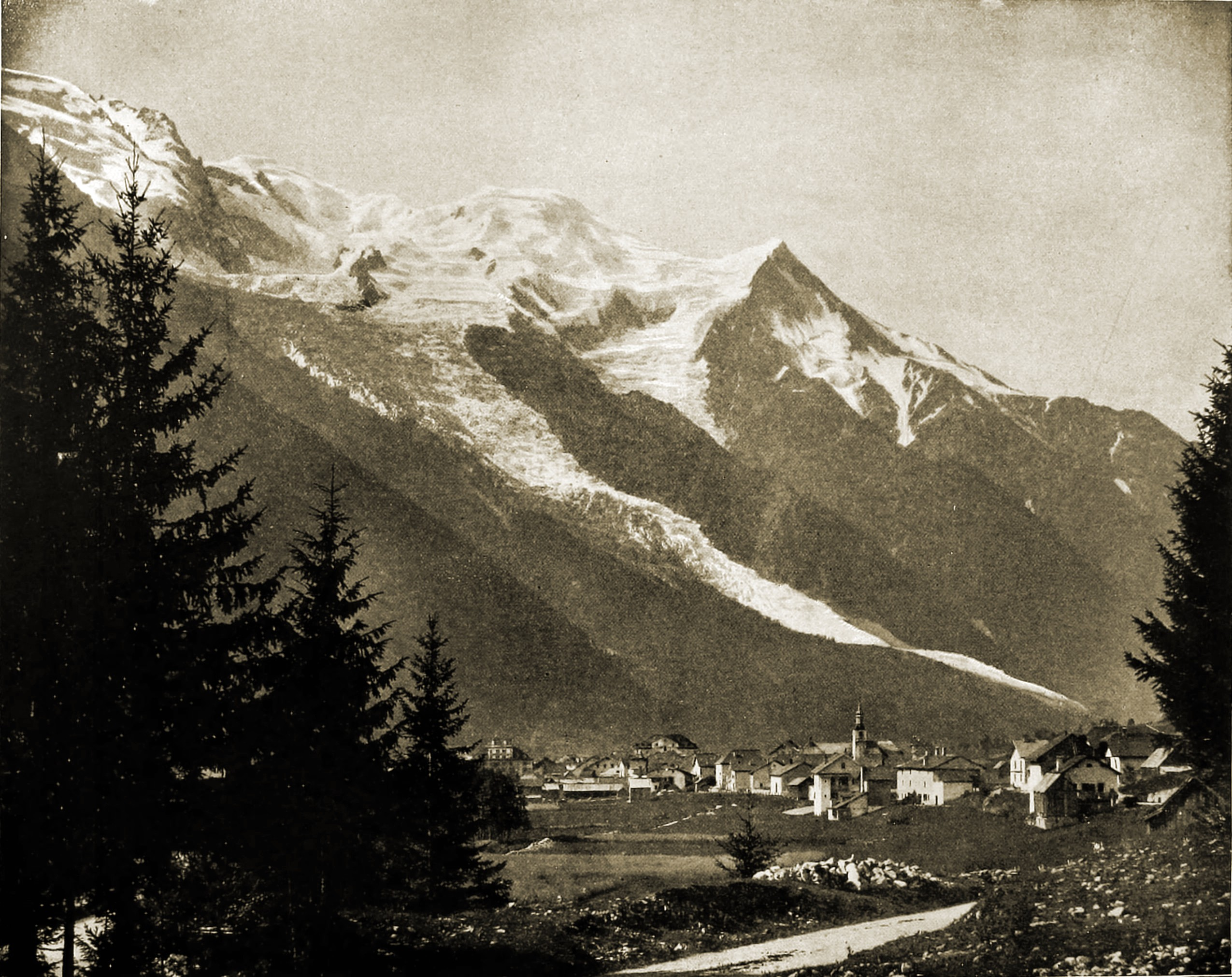 Chamonix-Mont-Blanc France about 1892