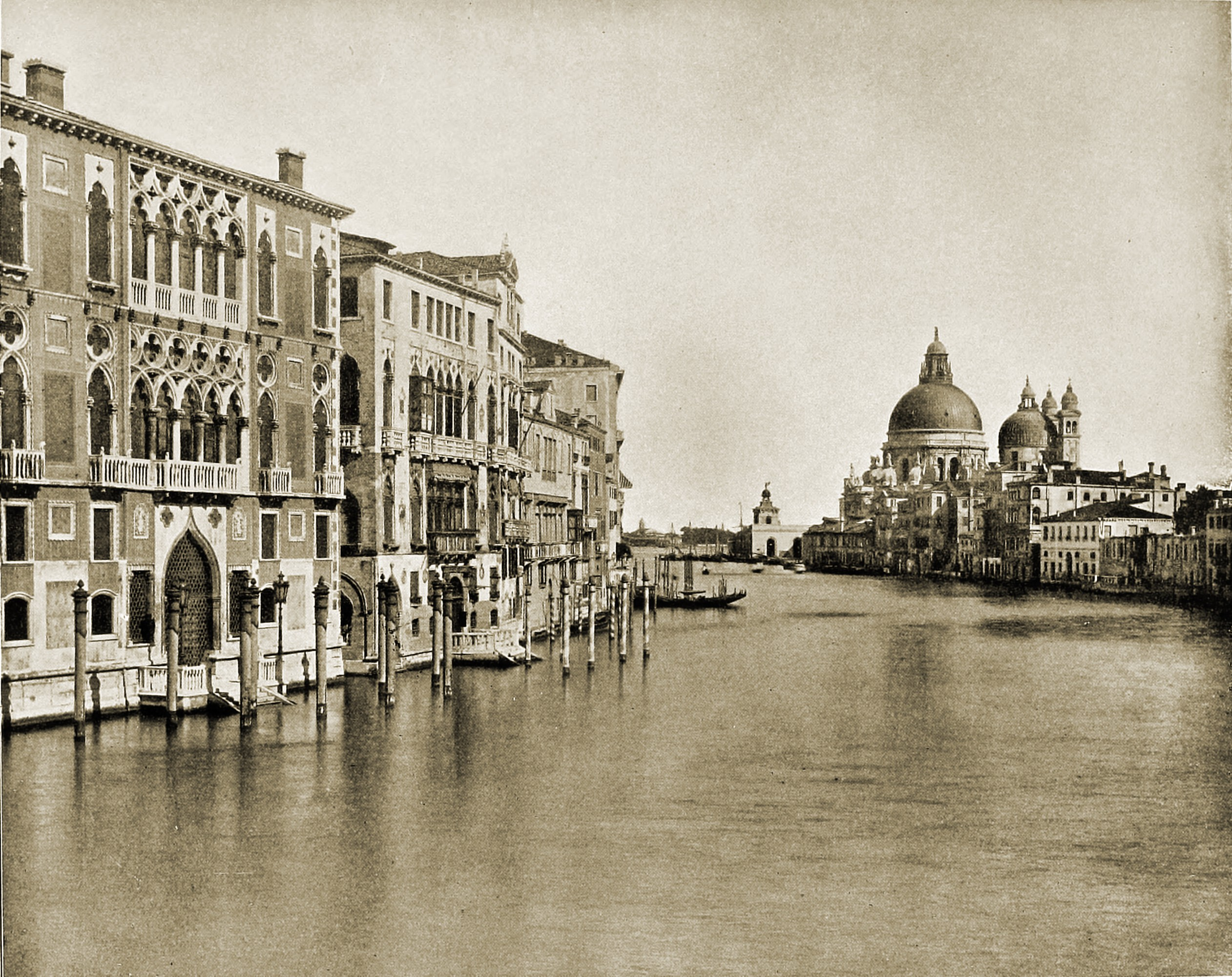 Grand Canal Venice Italy about 1892