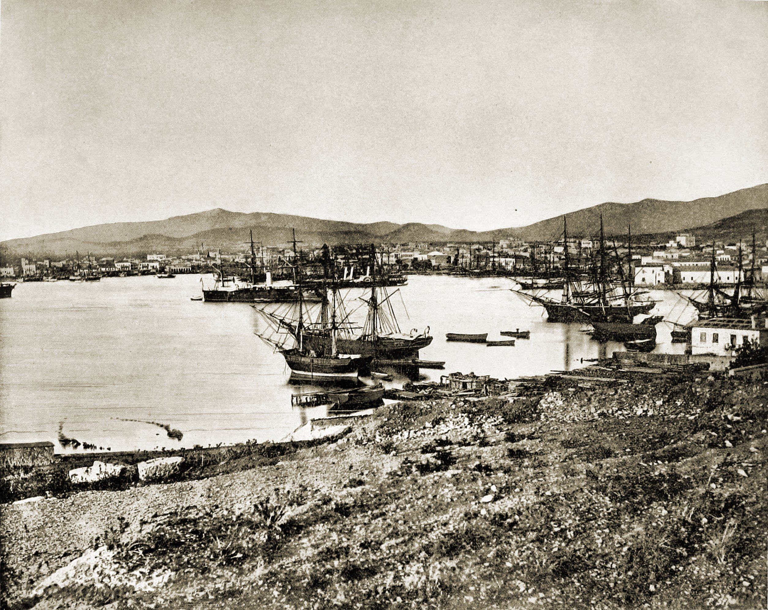 Piraeus Athens Greece about 1892
