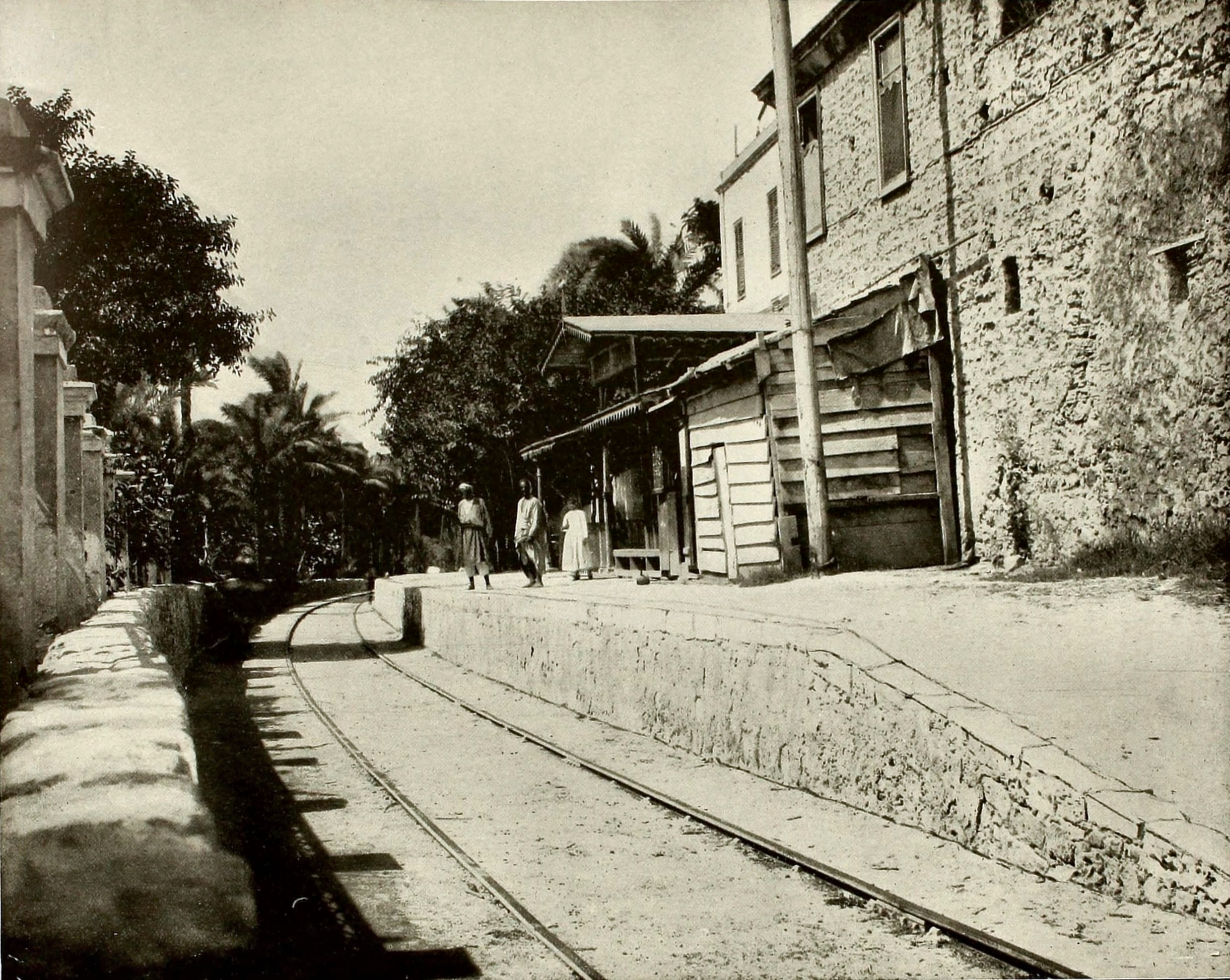 Ramla Station Israel about 1892