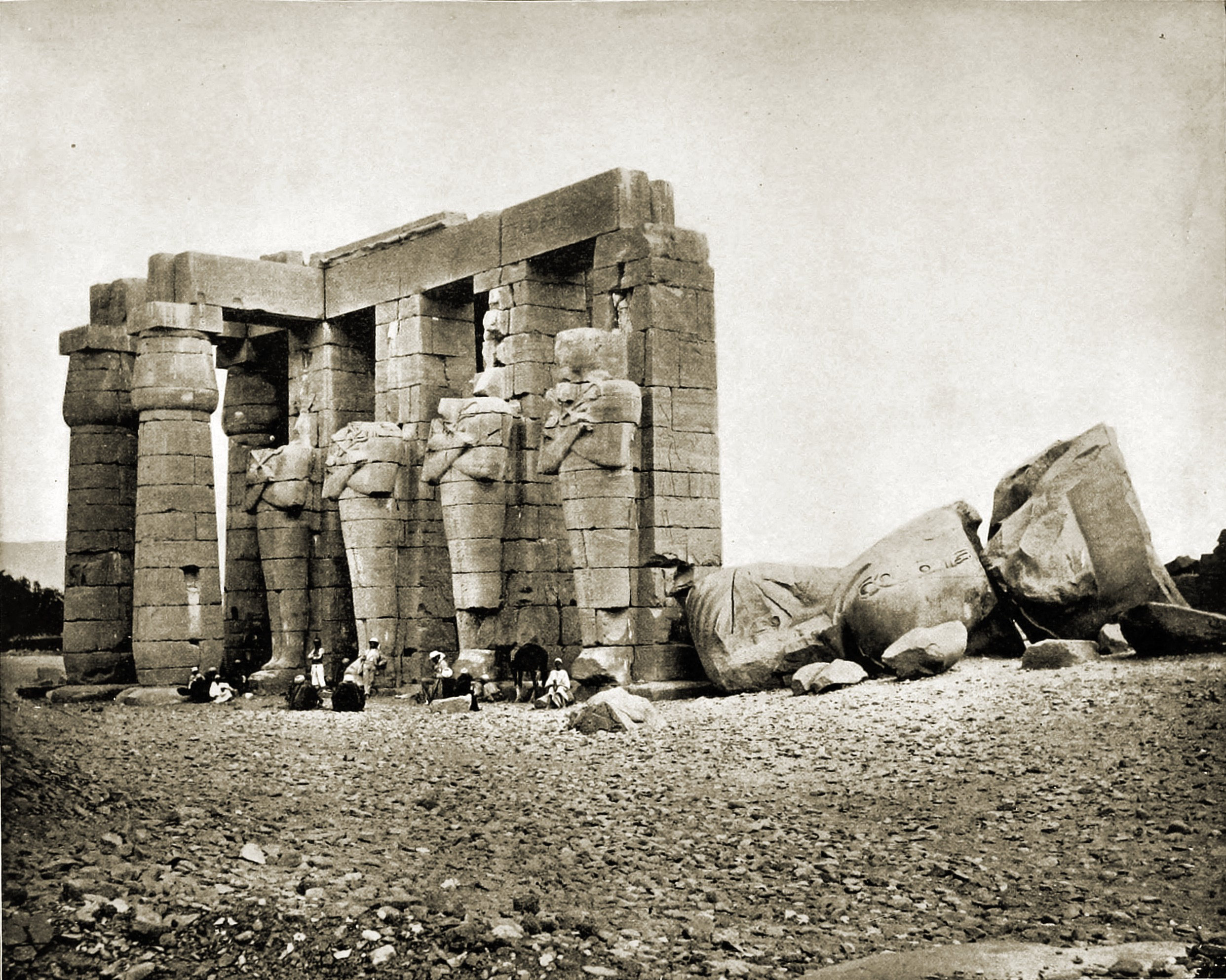 Ruins, Thebes, Egypt about 1892