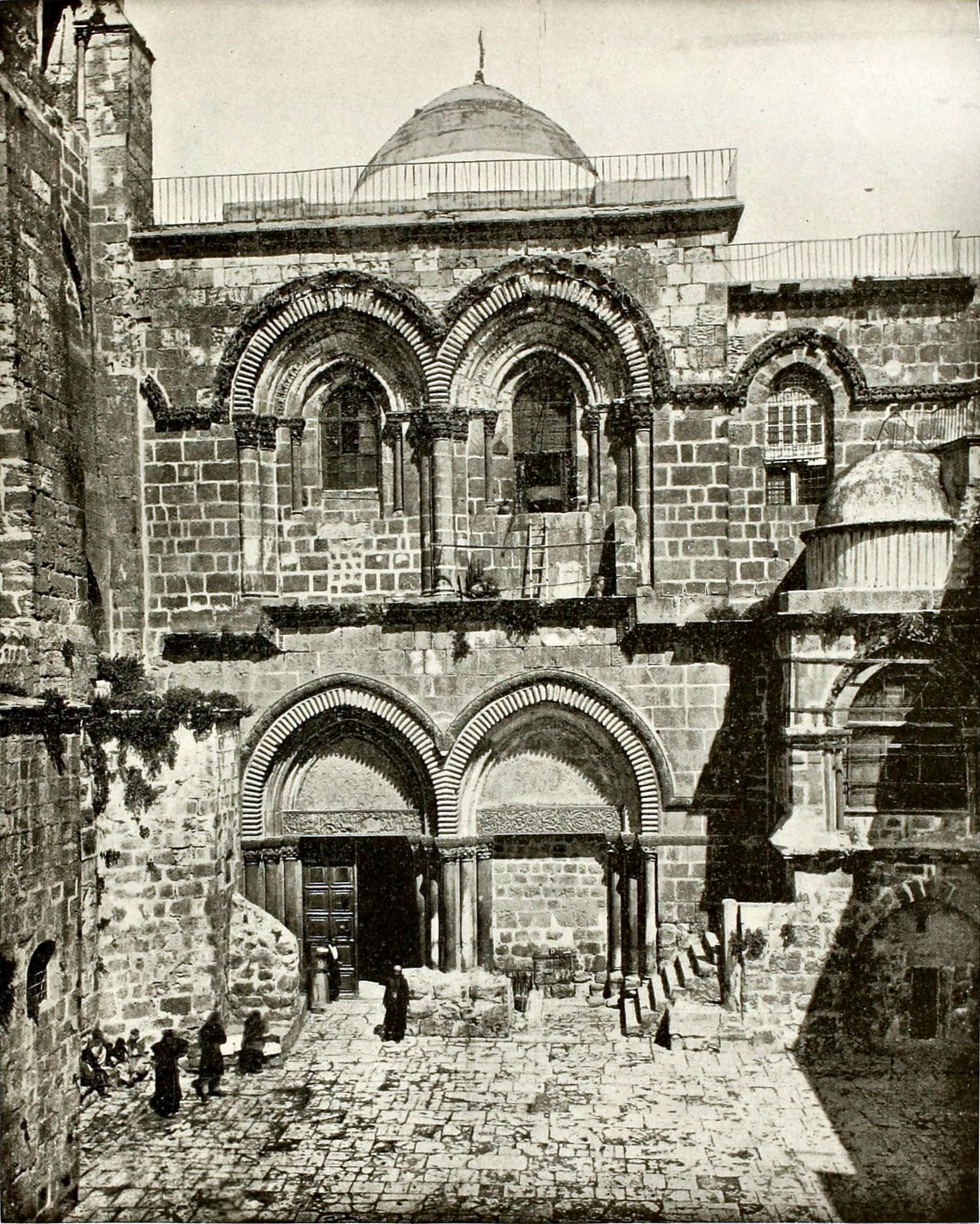 Church of the Holy Sepulchre, Jerusalem about 1892
