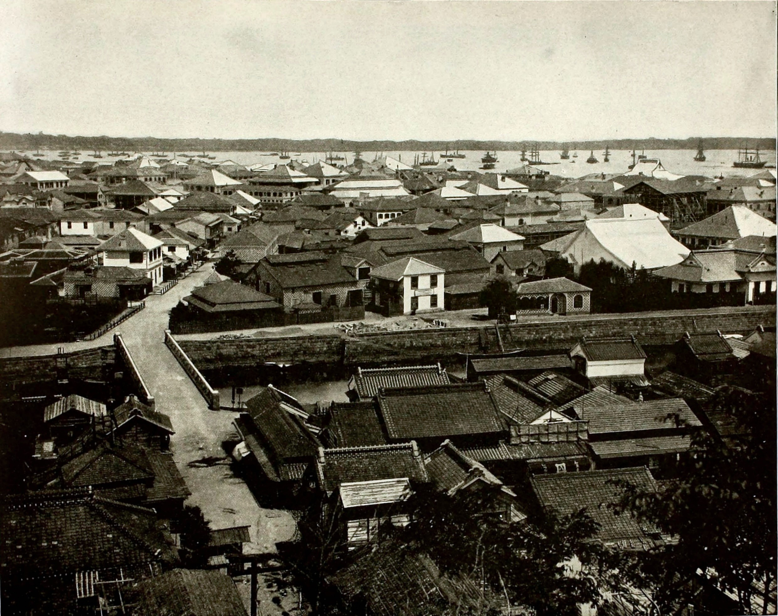 Yokohama Japan about 1892