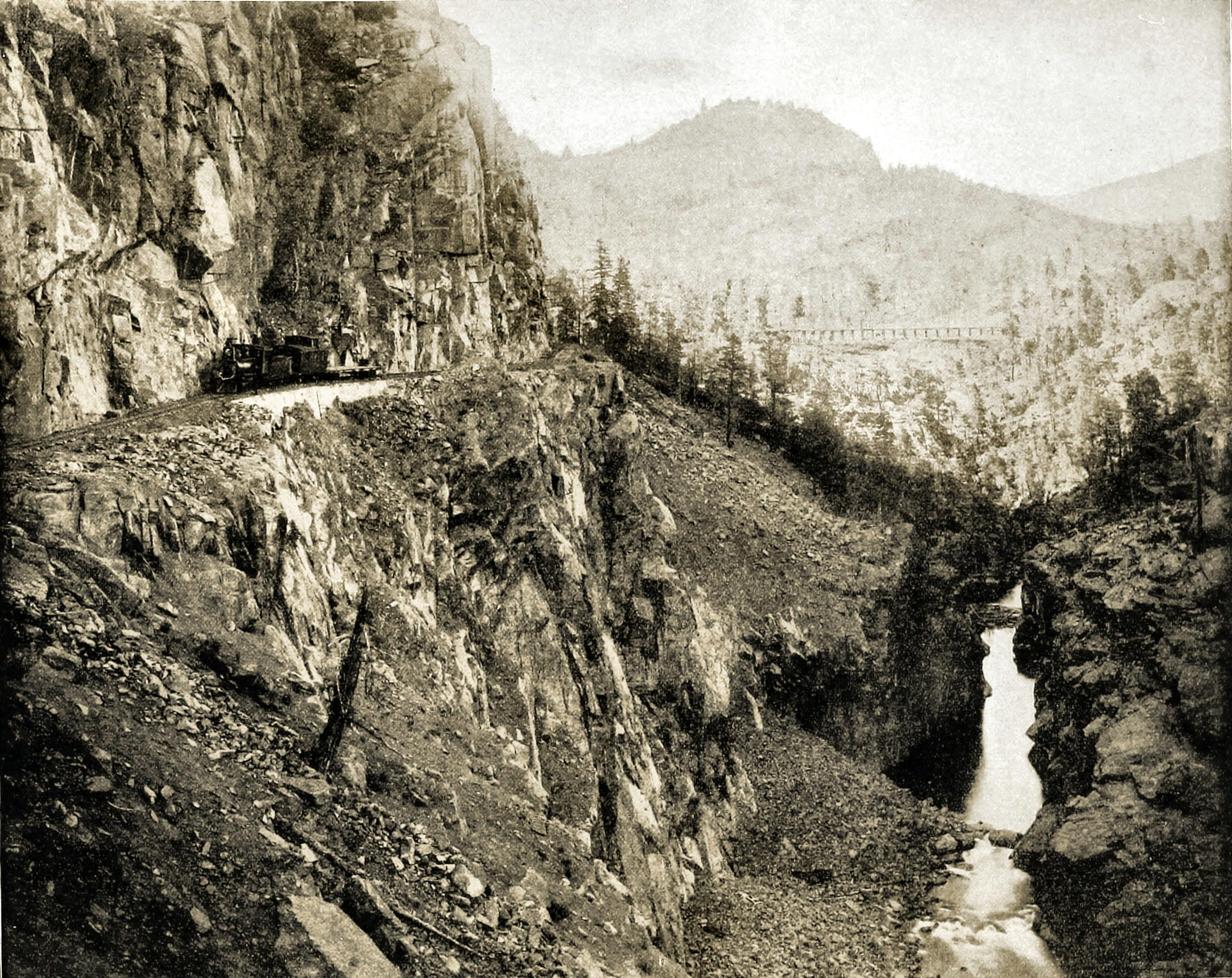 River of Lost Souls, Colorado, USA about 1892