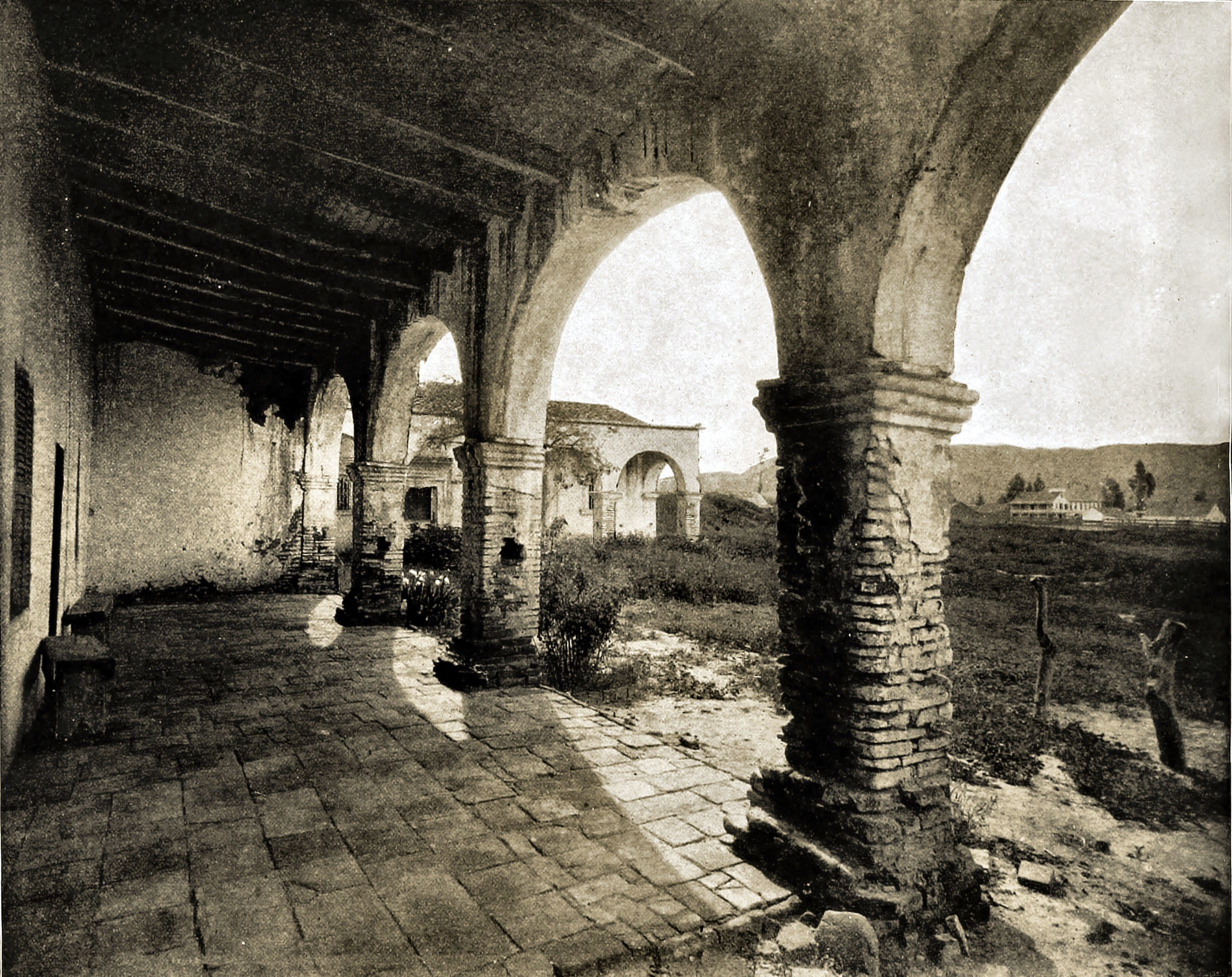 San Juan Capistrano Mission, California, USA about 1892