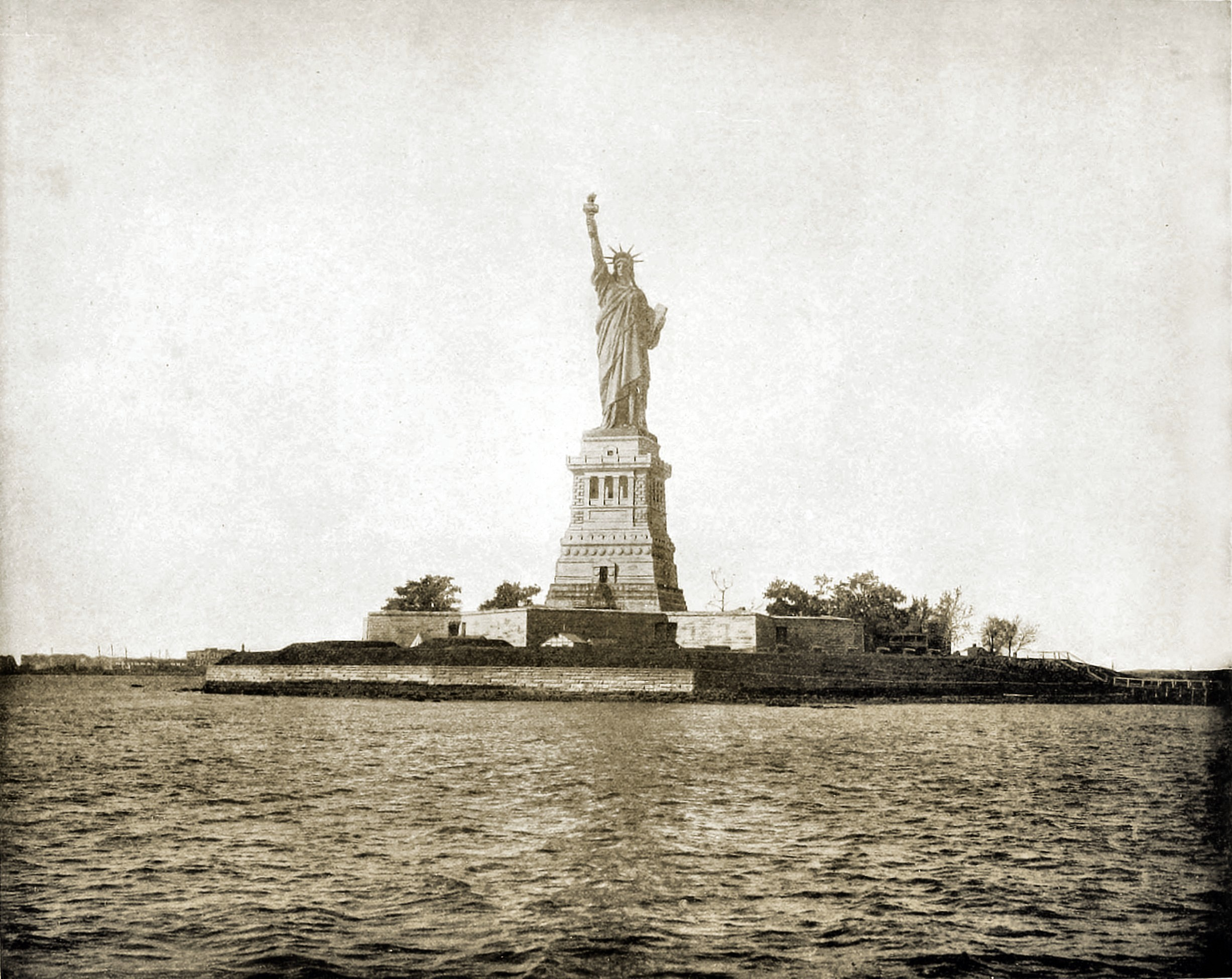 Statue of Liberty, New York, USA about 1892