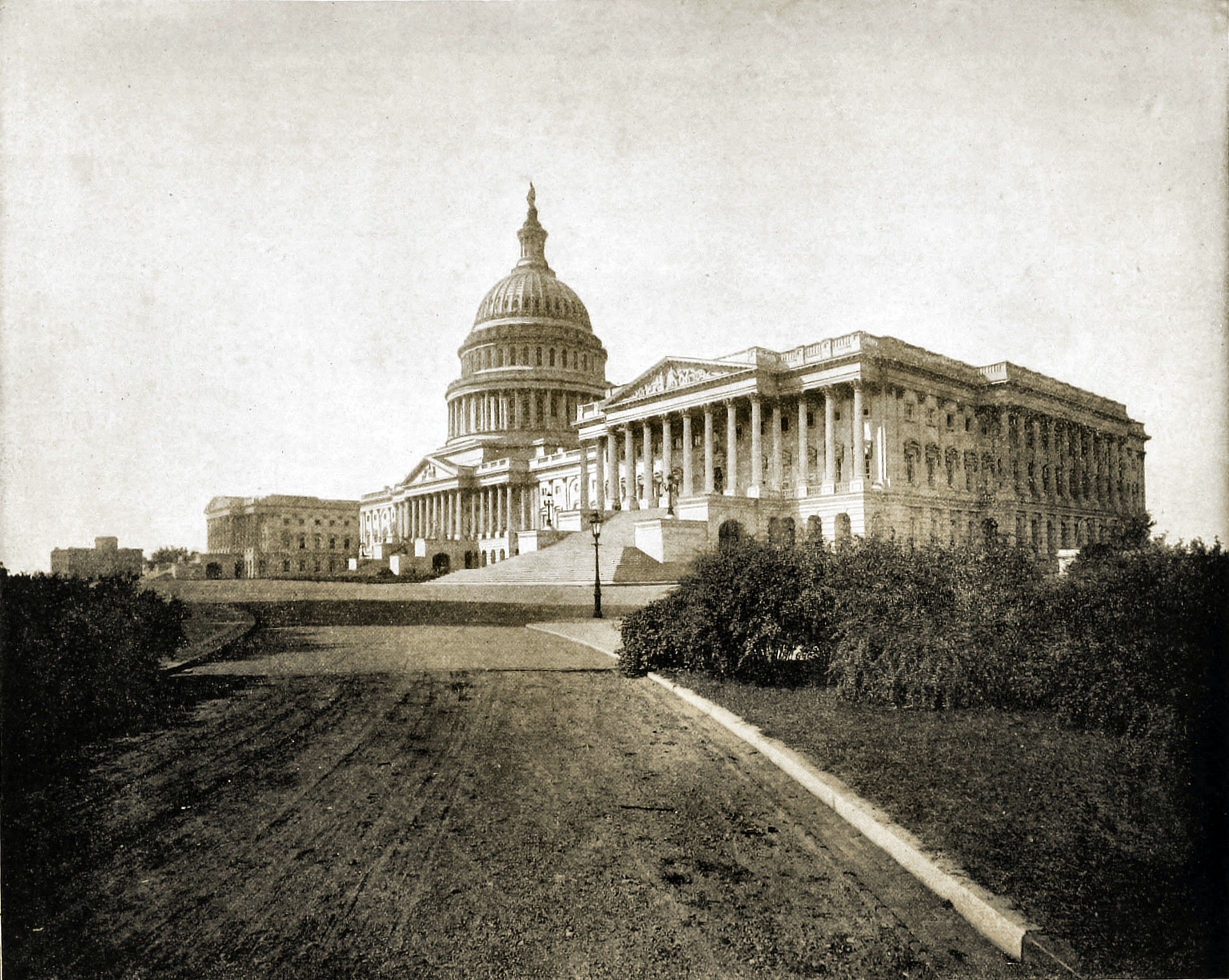 The Capitol Washington, D. C. USA about 1892