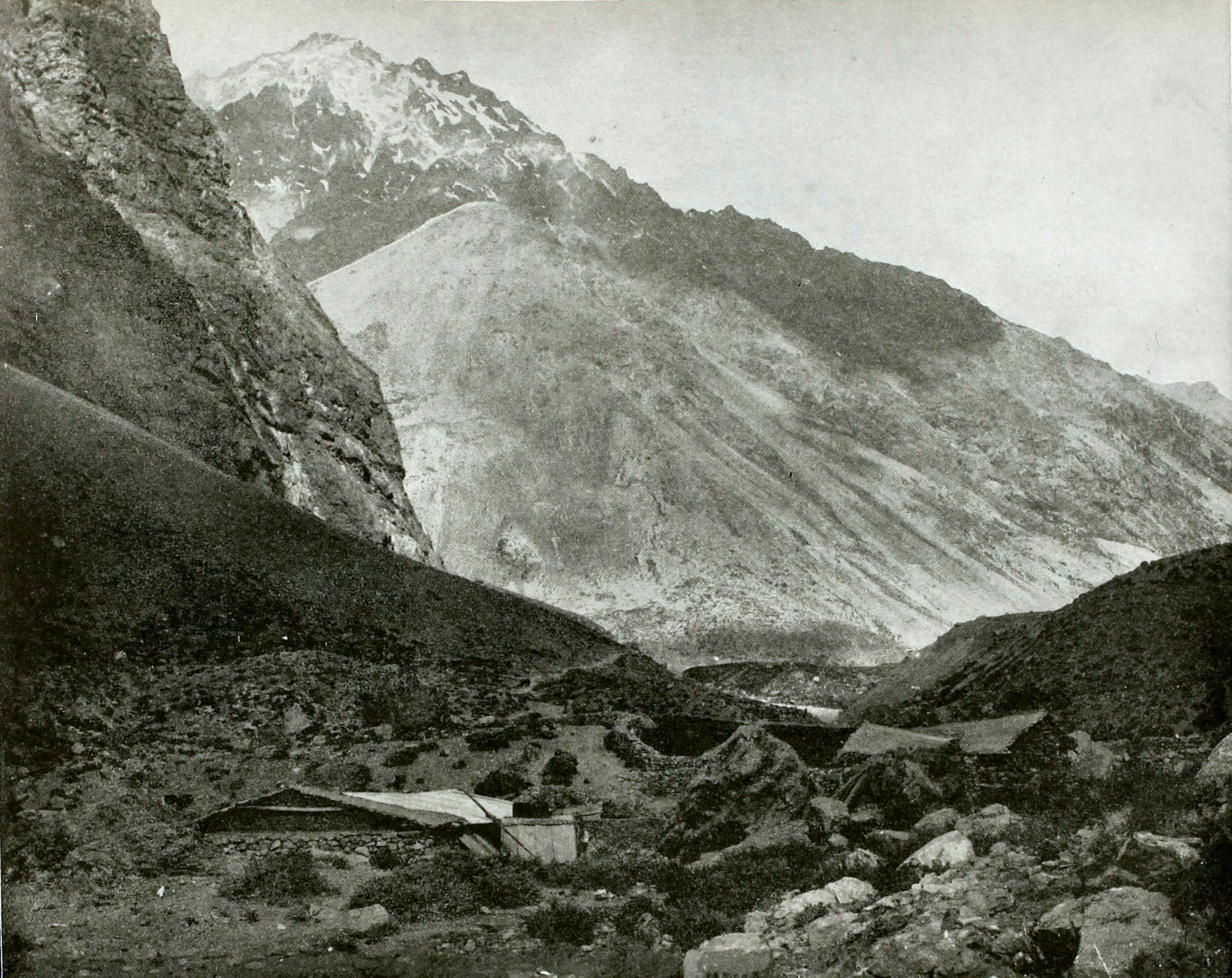 Uspallata Pass, Andes Mountains, Argentina – Chile about 1892