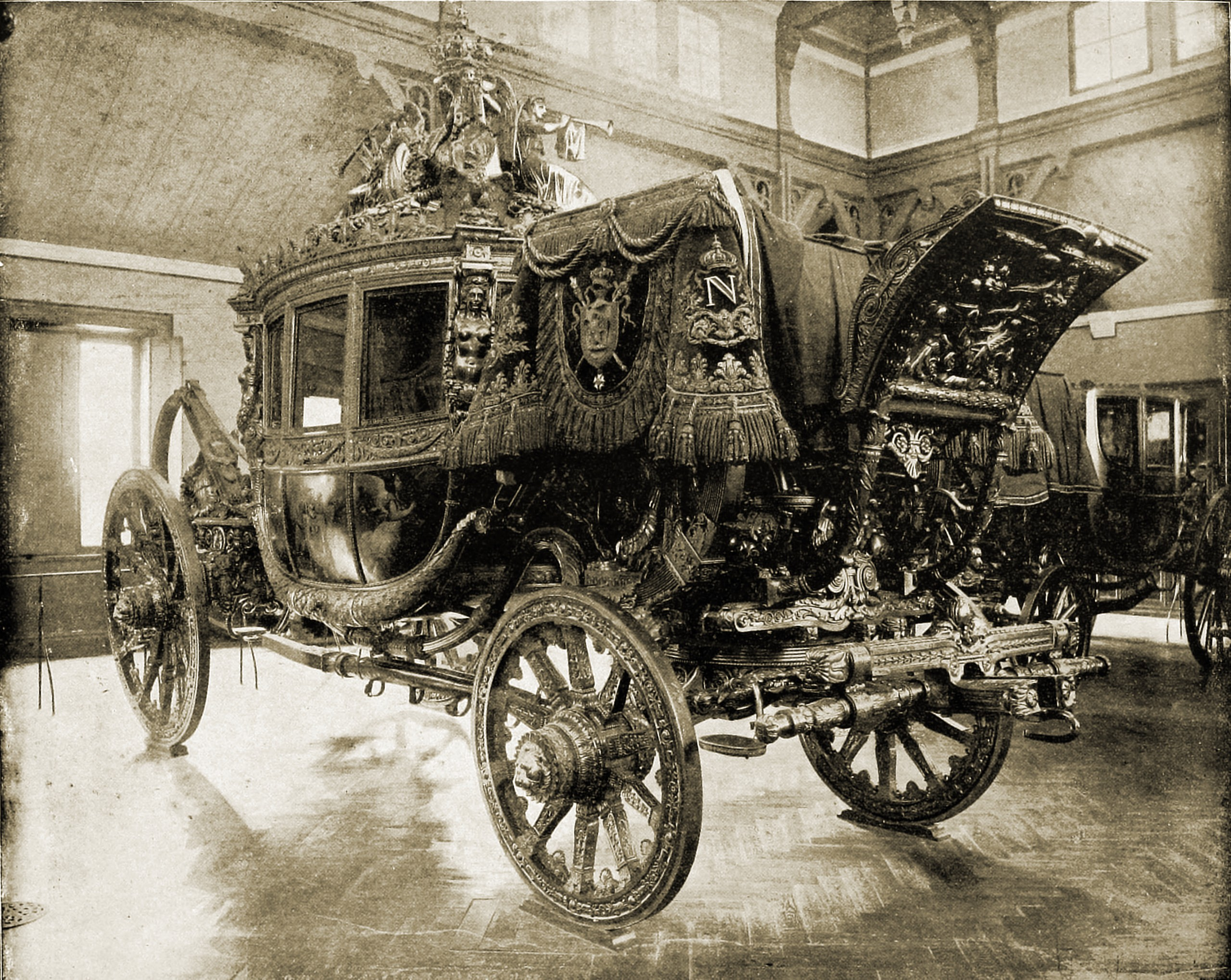 Napoleon's Carriage Versailles France 1892