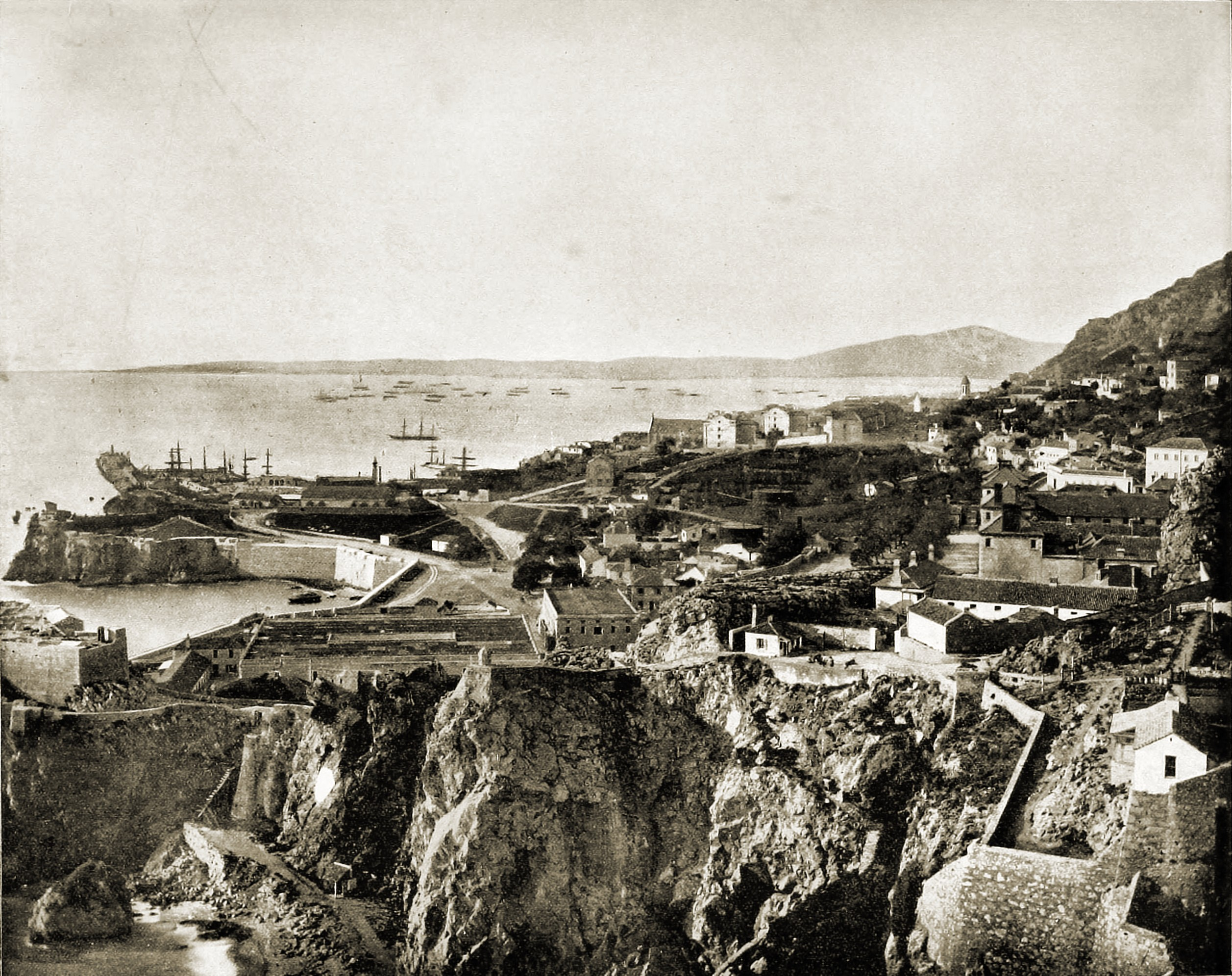 Gibraltar about 1892