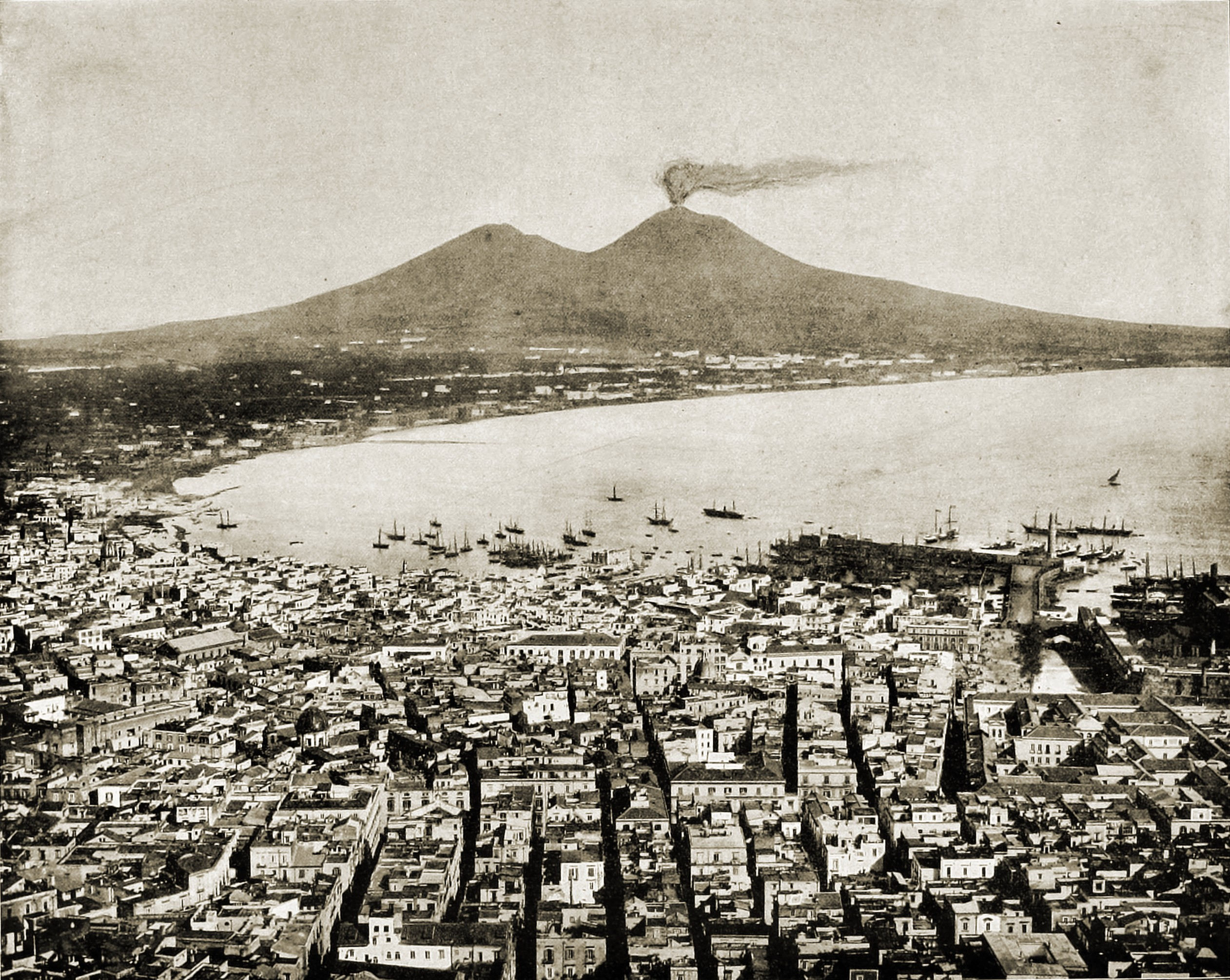 Naples Italy about 1892