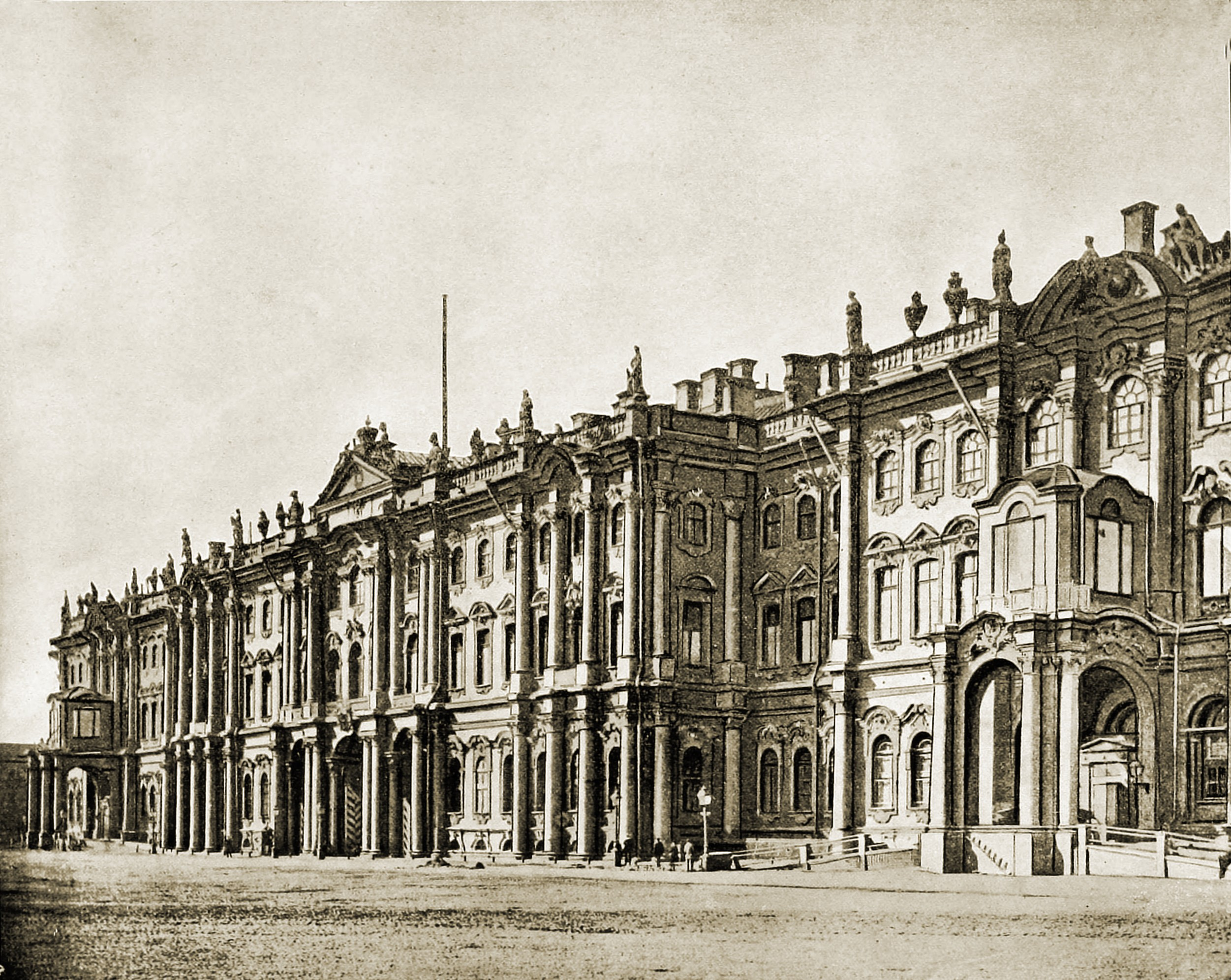 Winter Palace Saint Petersburg Russia about 1892