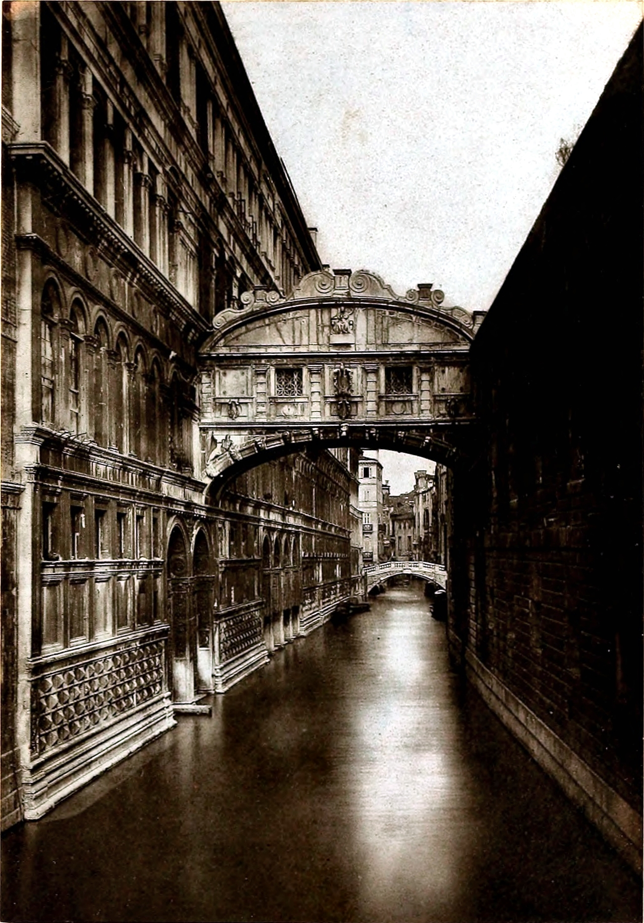 The Bridge of Sighs, Venice, Italy about 1875 by Stephen Thompson