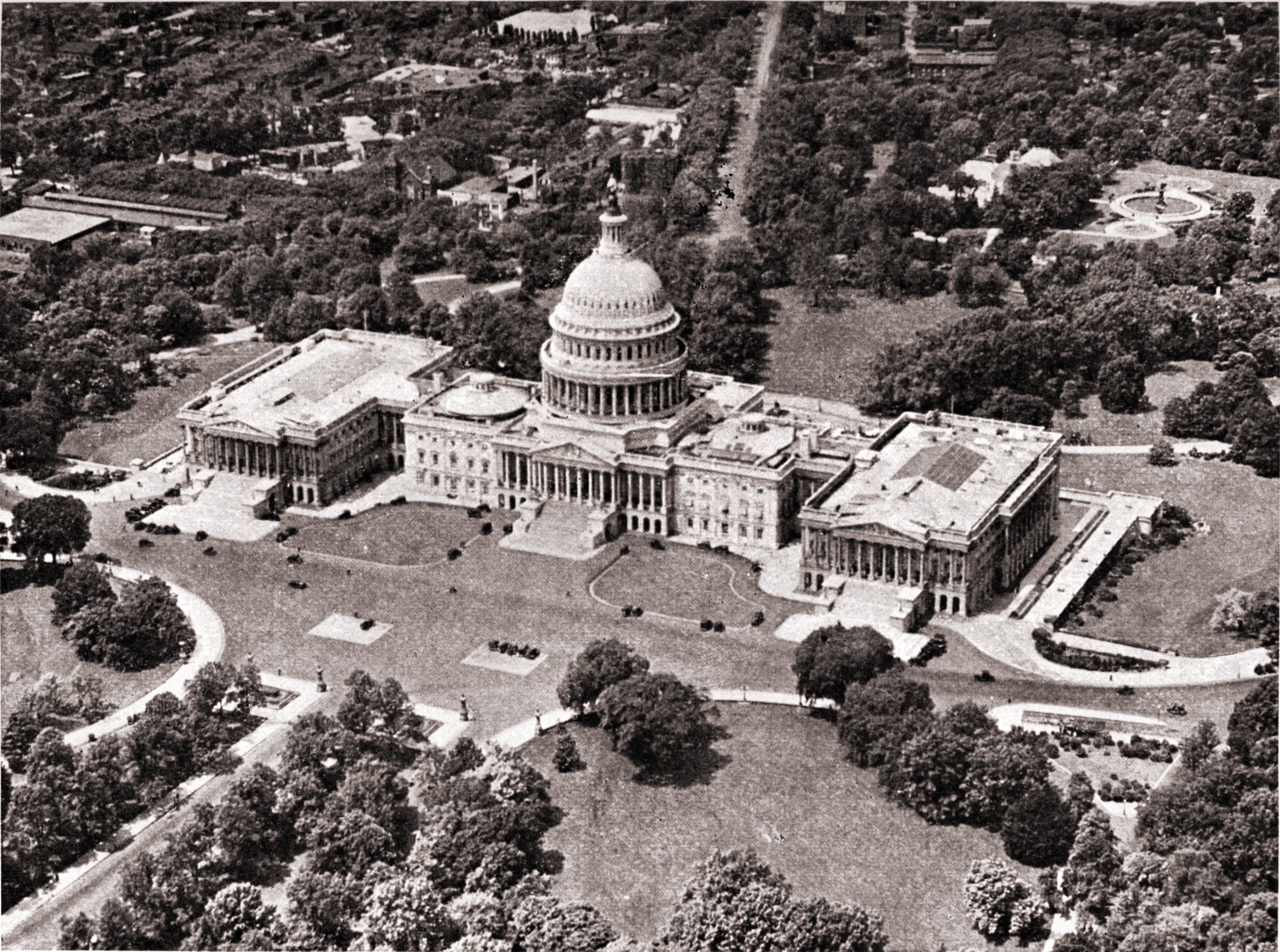 Capitol at Washington, D. C. (USA) by E. J. Brown about 1923