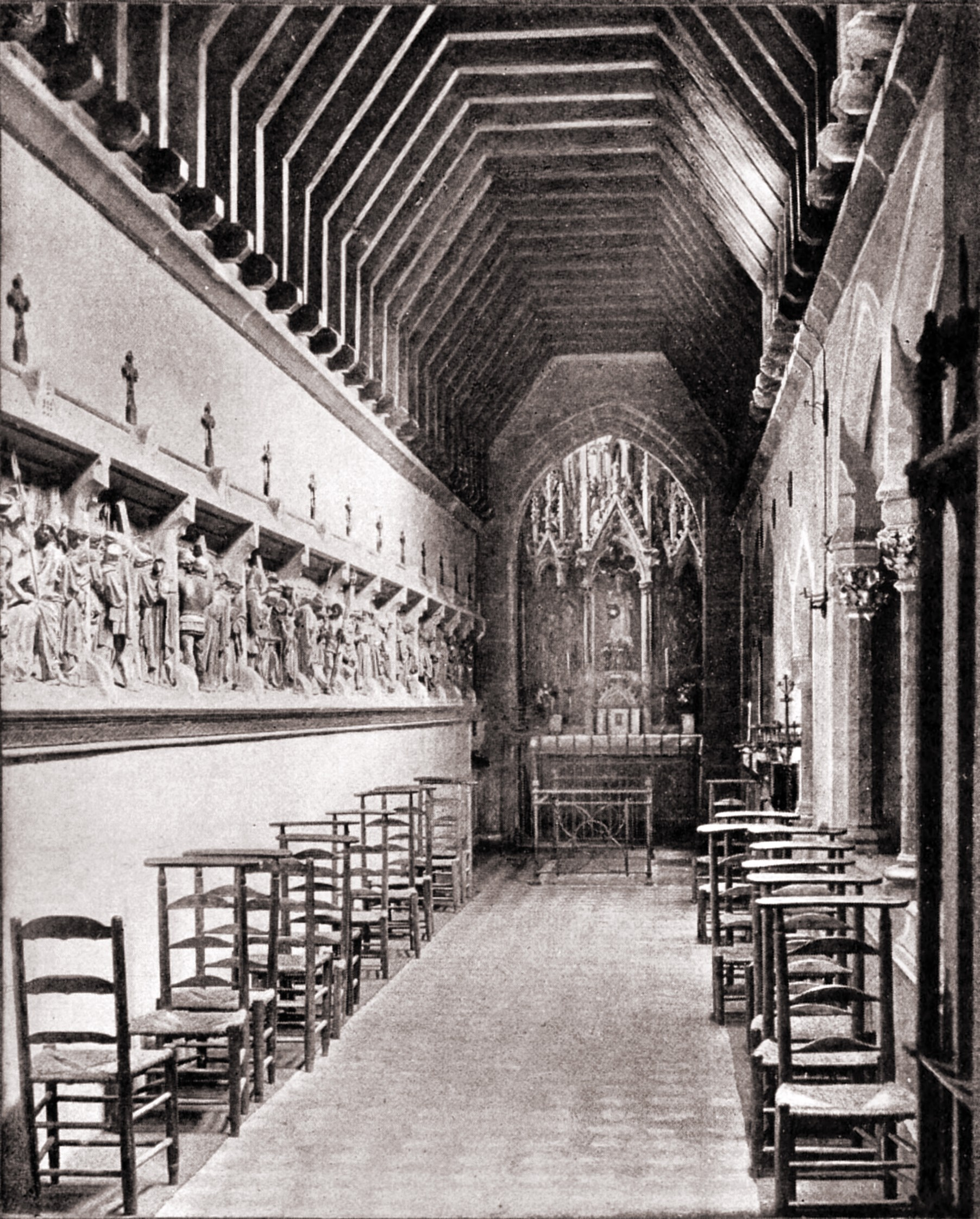 Chapel of the Sacred Heart, St Augustine's Church, Ramsgate, England by A. Lockett about 1923