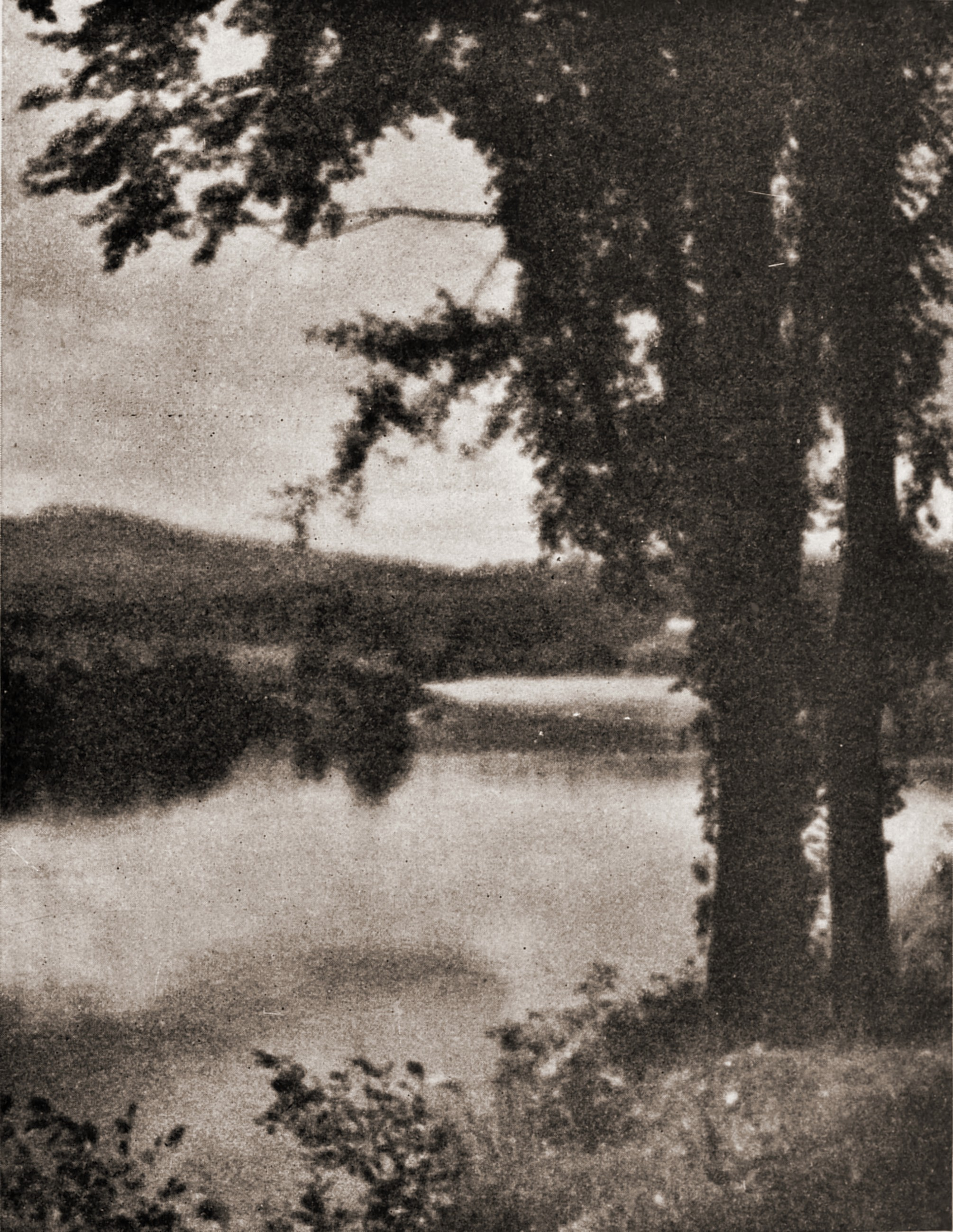 A bit of the Androscoggin by W. T. Starr about 1923