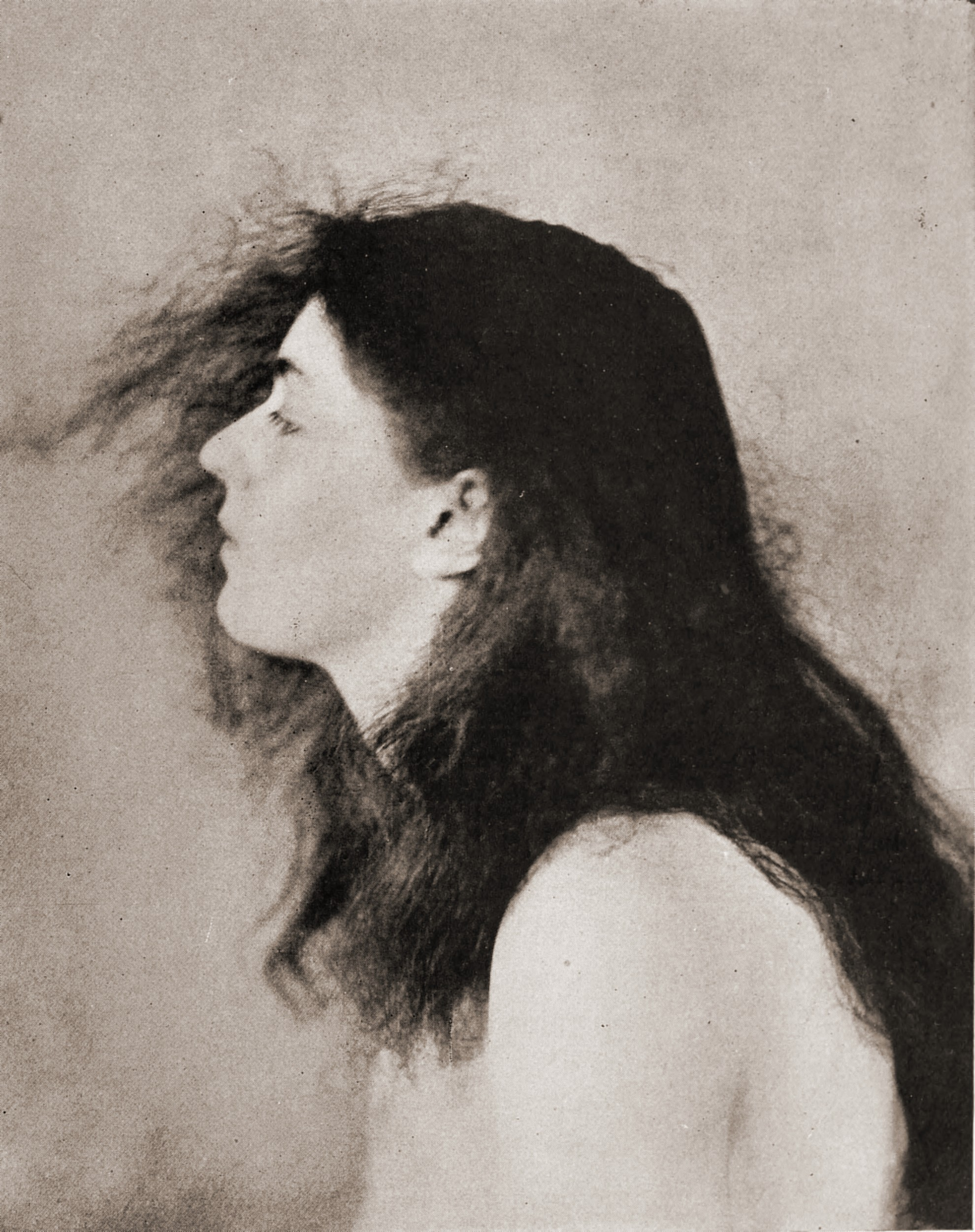 A study in black and white by Robert Wilson Shufeldt about 1923