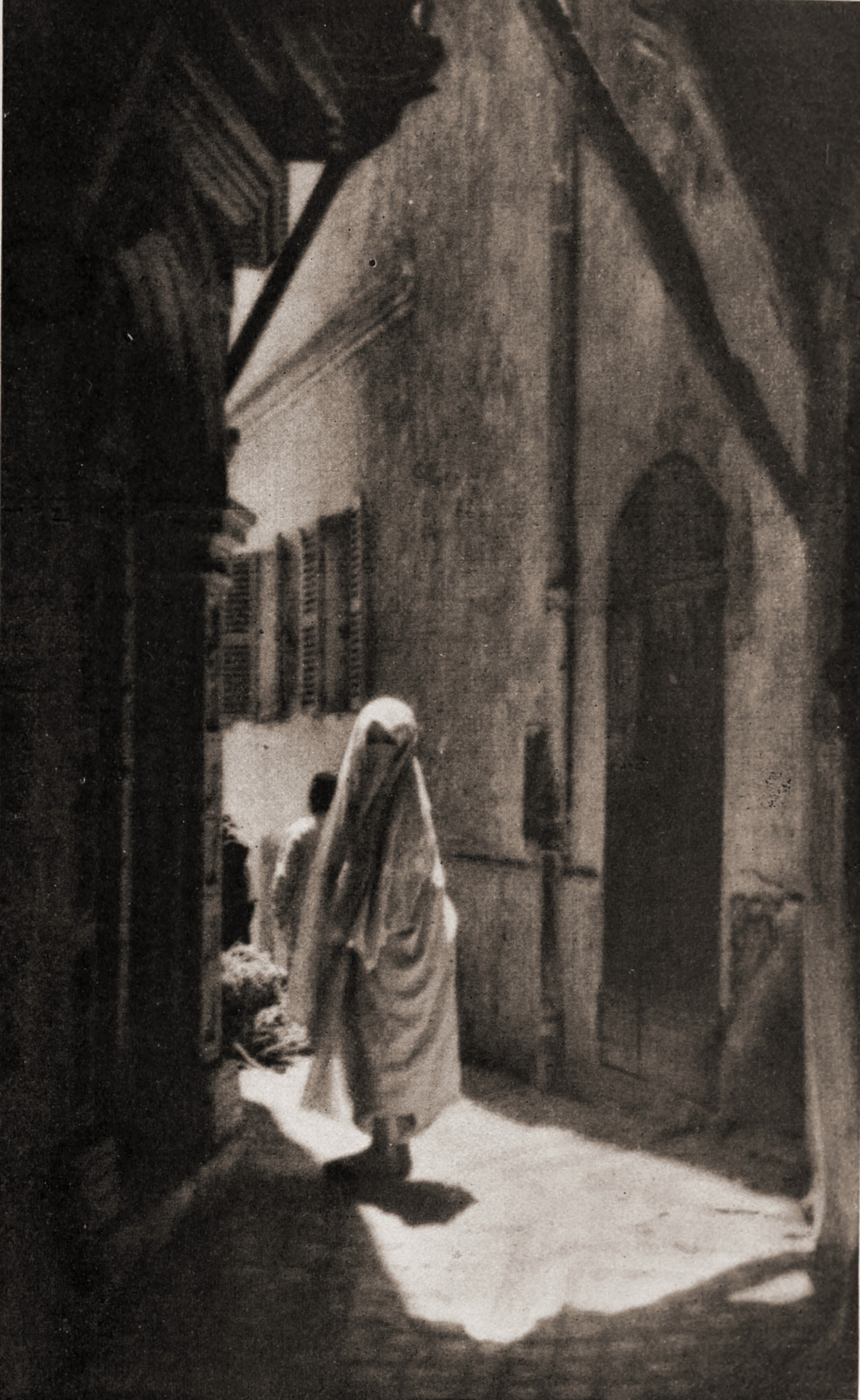 The Veiled Lady by Louis J. Steele about 1923