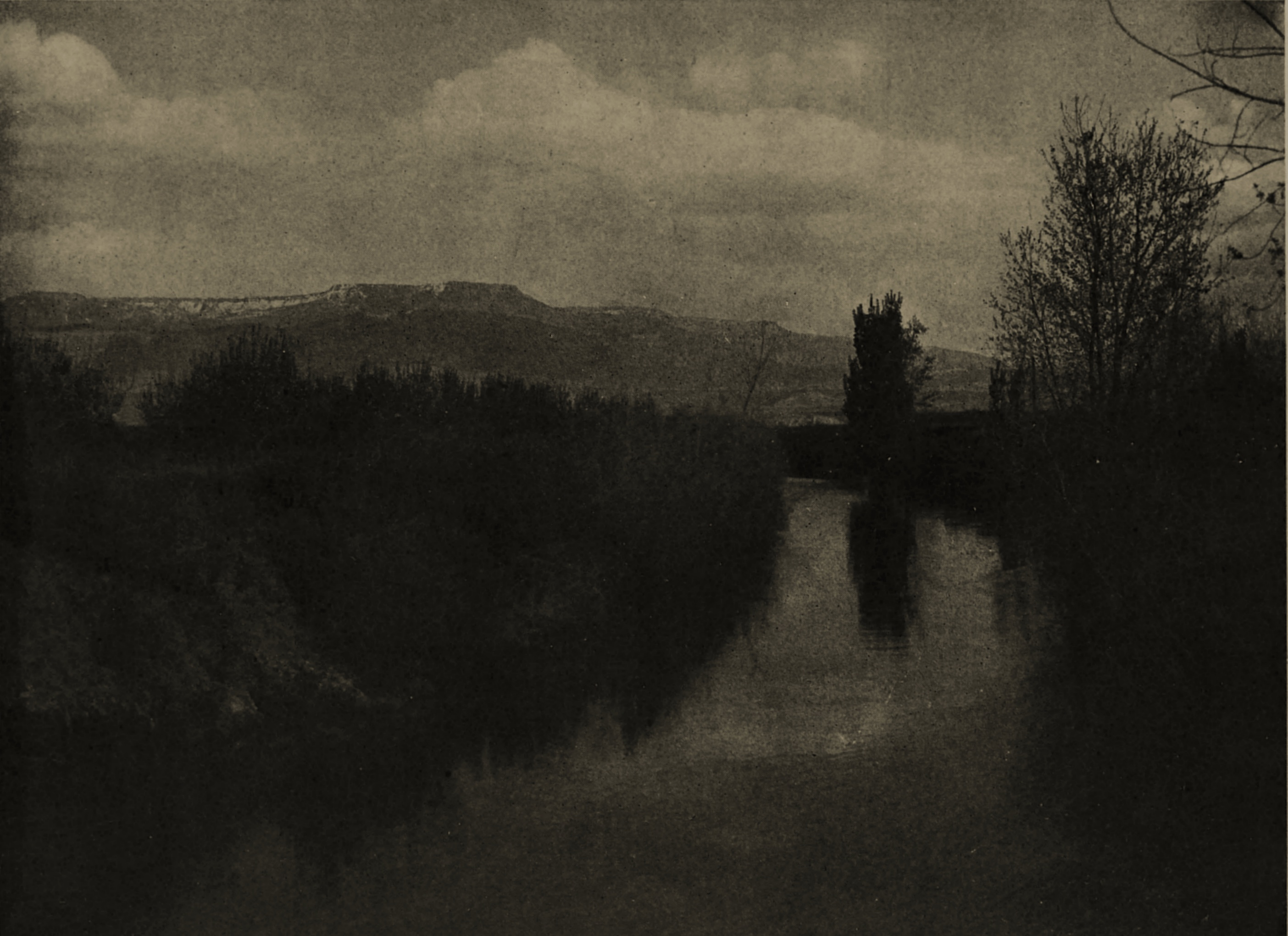 An Irrigating Canal by George L. Beam about 1908