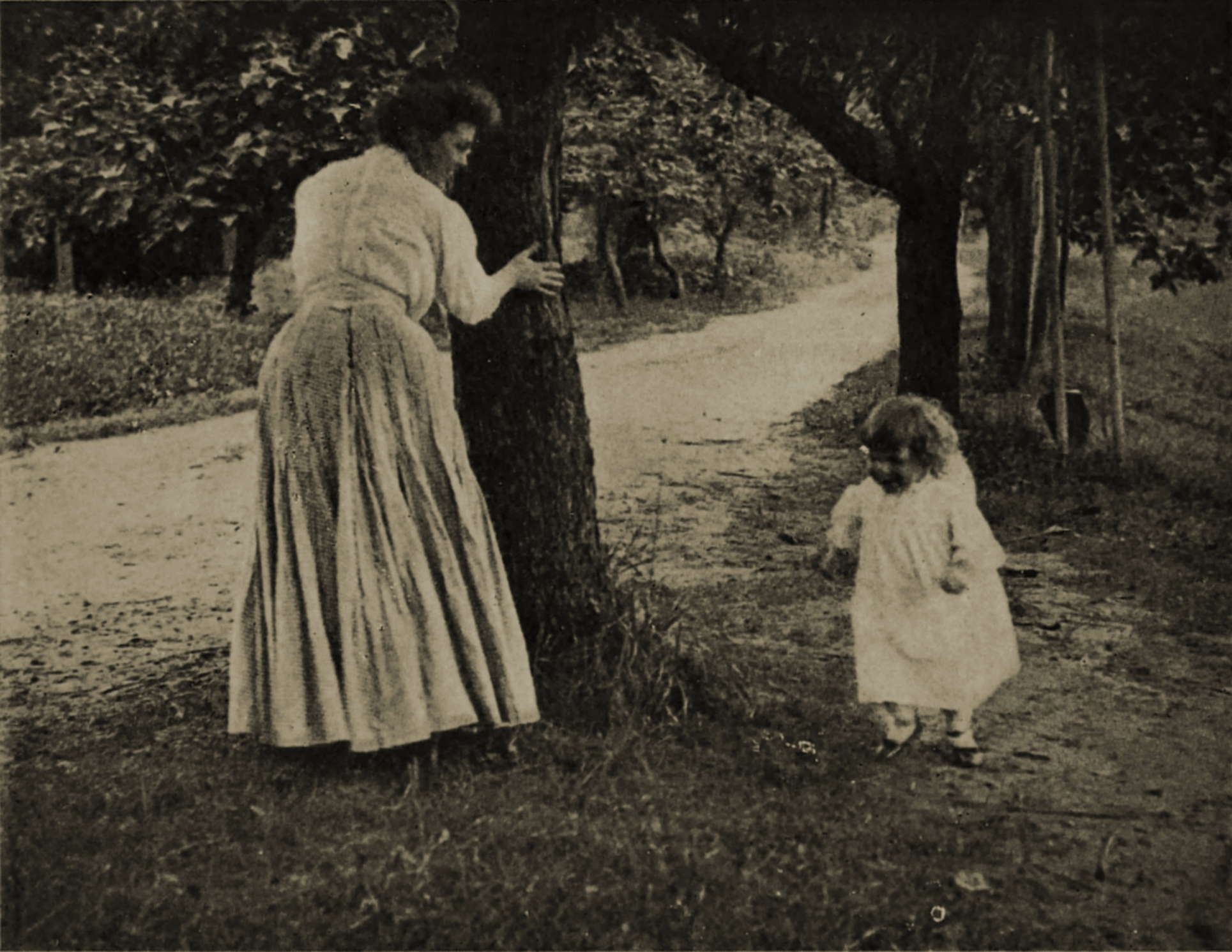 Hide and seek by C. H. Claudy about 1908