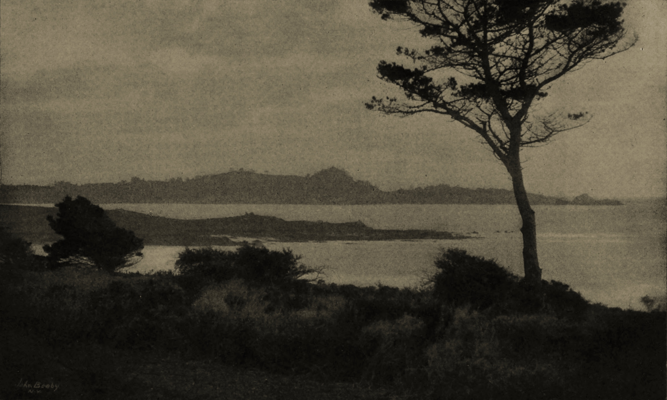 Landscape by John Beeby about 1908
