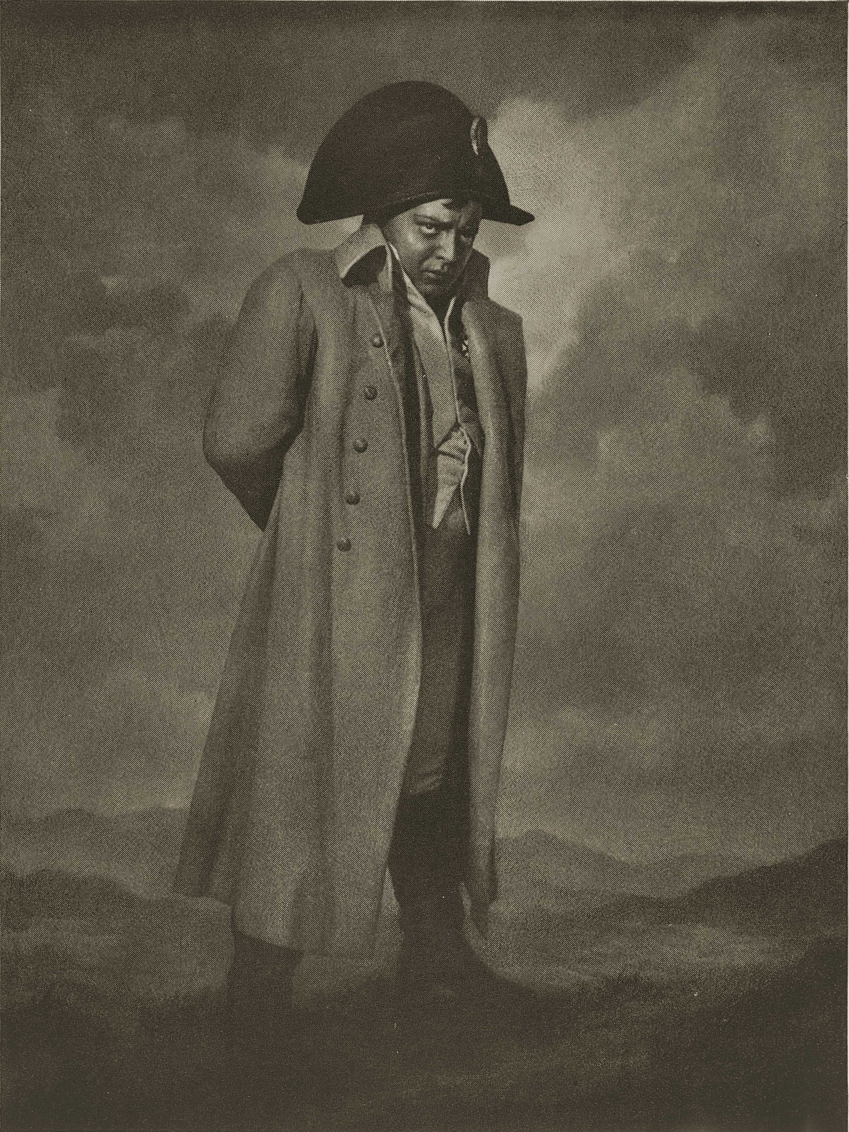 Peter Lorre as Napoleon by William Mortensen about 1937