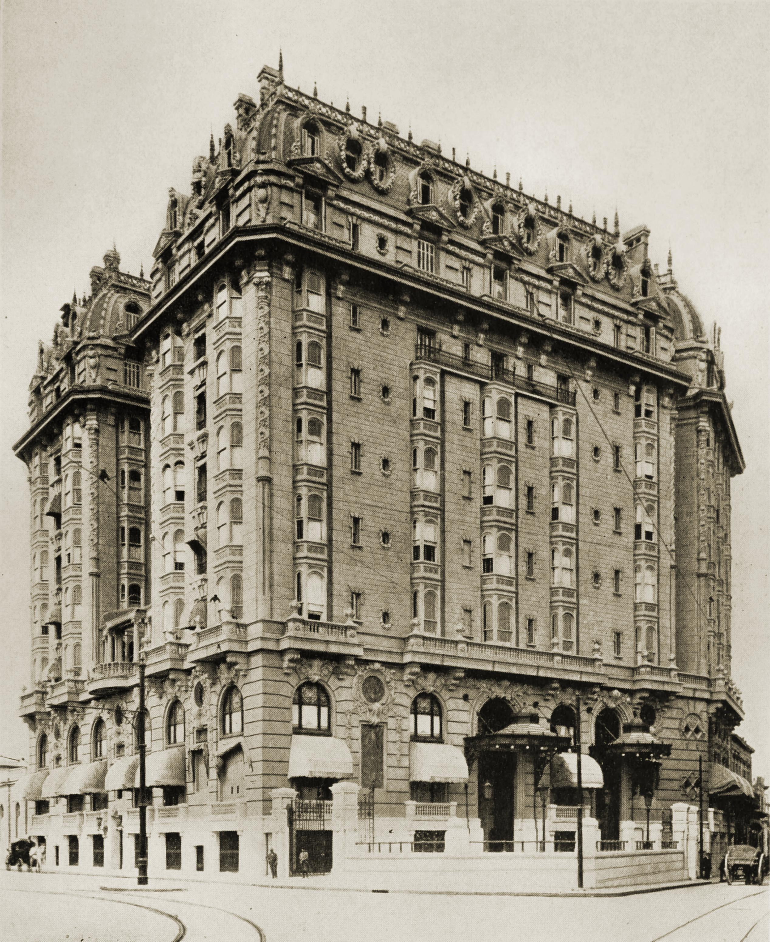 Plaza Hotel, Buenos Aires, Argentina about 1917