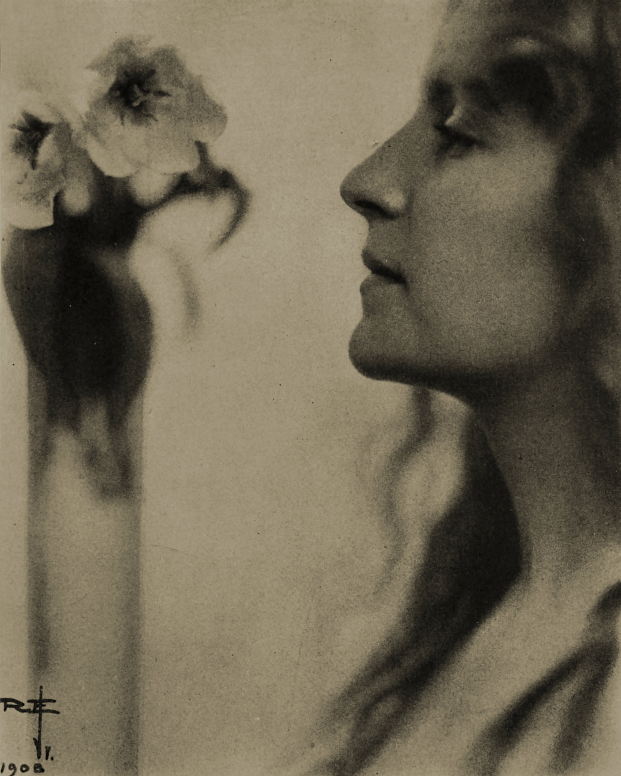 Photo for a poster by Rudolph Eickemeyer 1908
