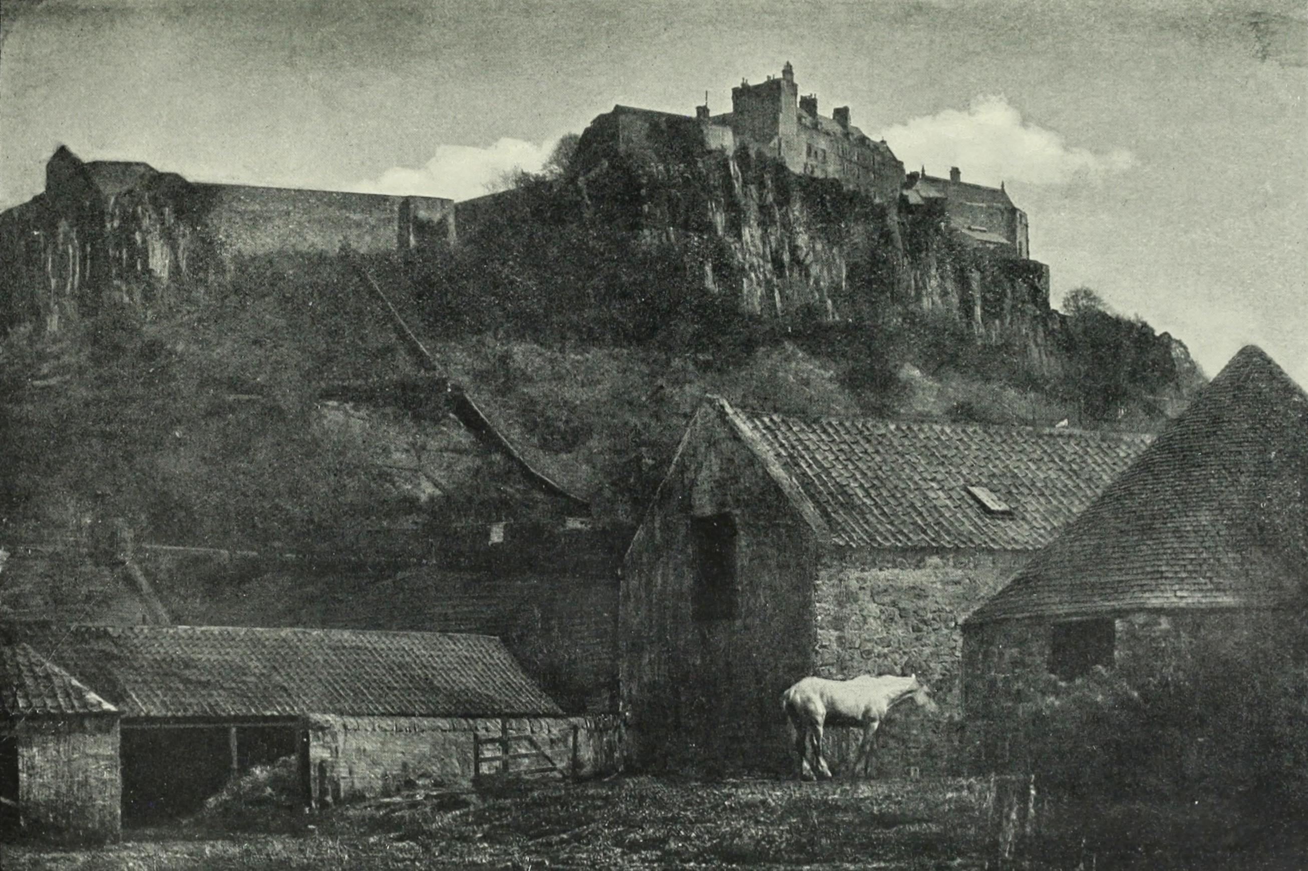 Stirling Castle by James Craig Annan about 1903