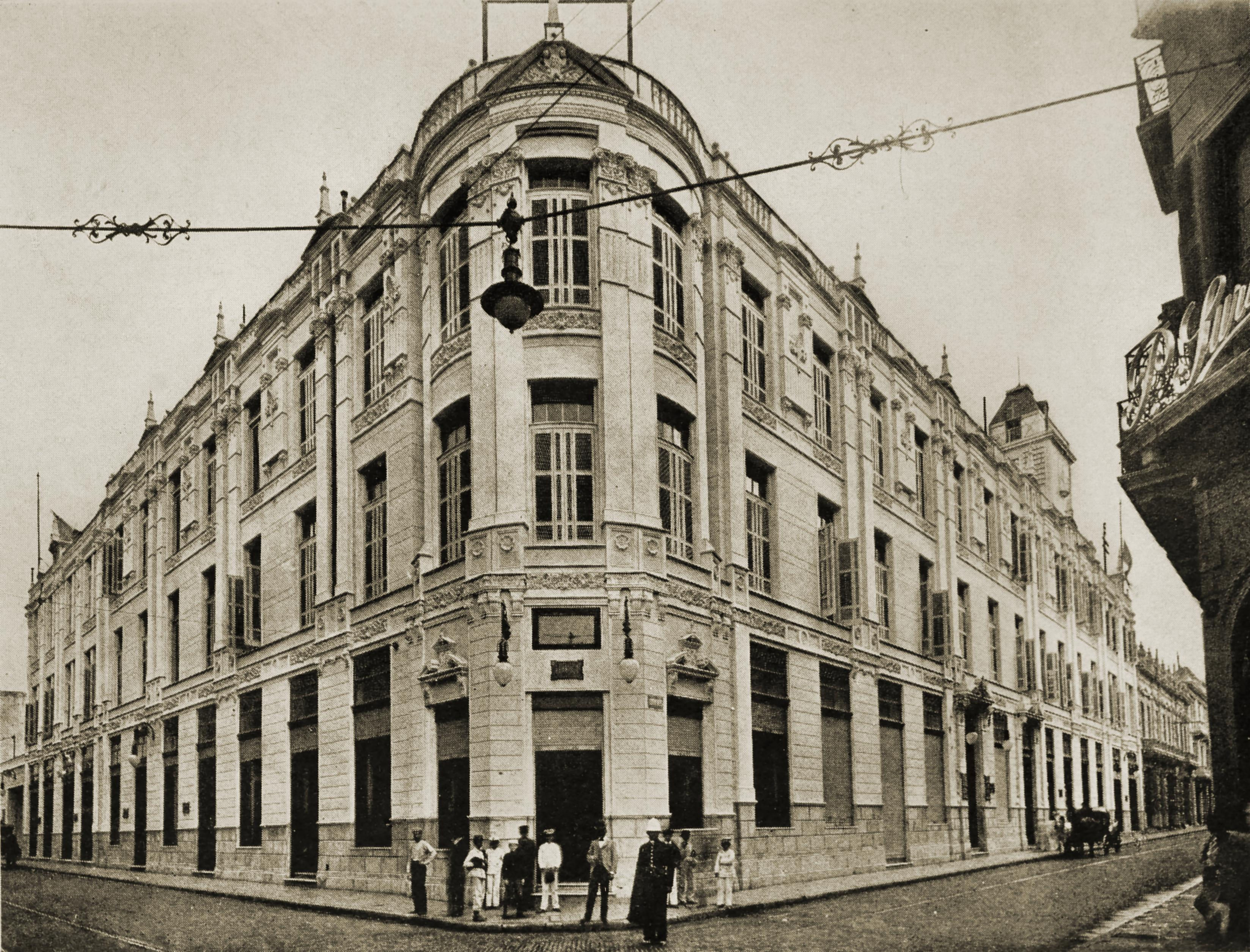 Correo Central (Post Office), Buenos Aires, Argentina about 1917