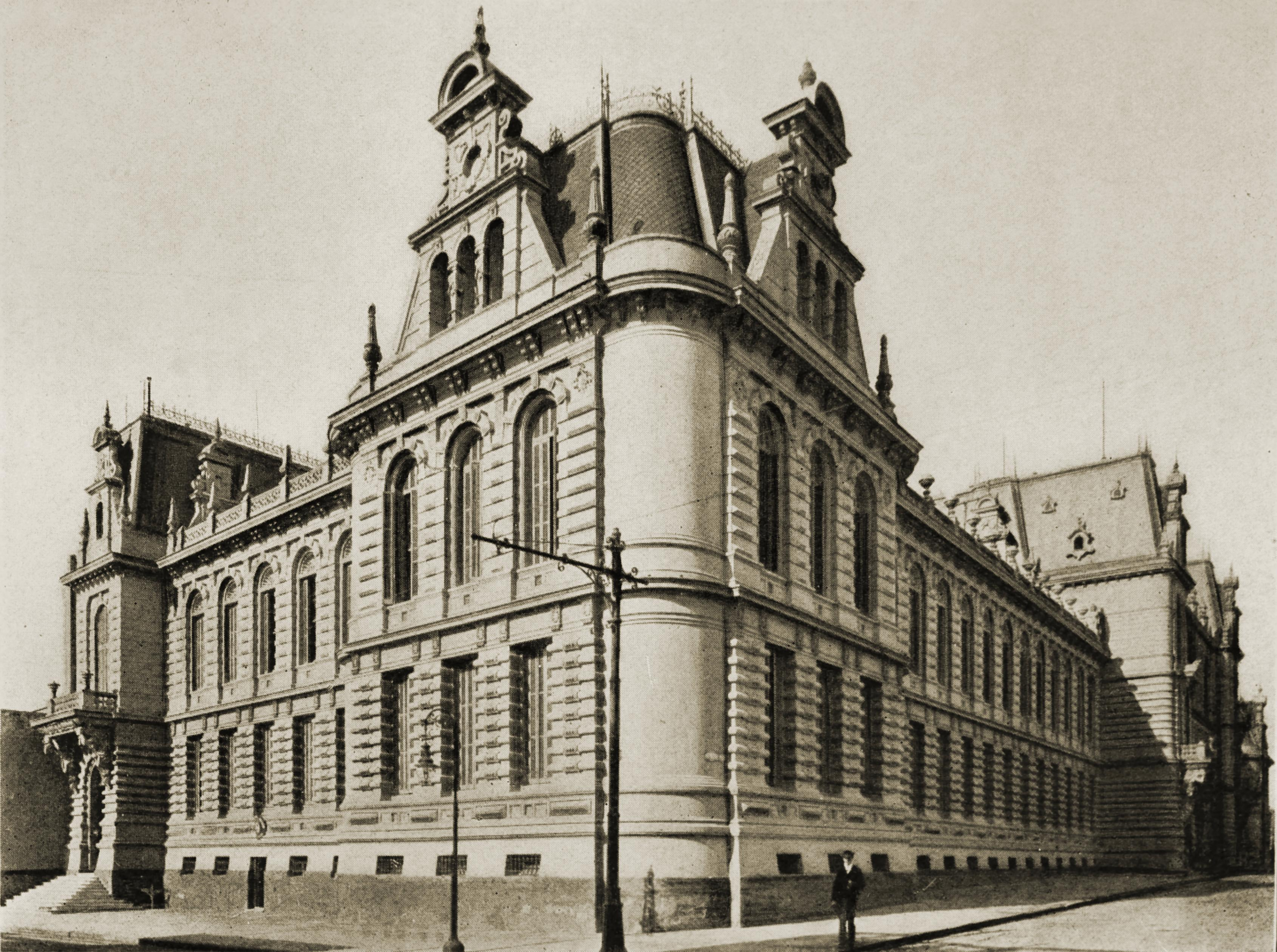 Pizzurno Palace, Buenos Aires, Argentina about 1917