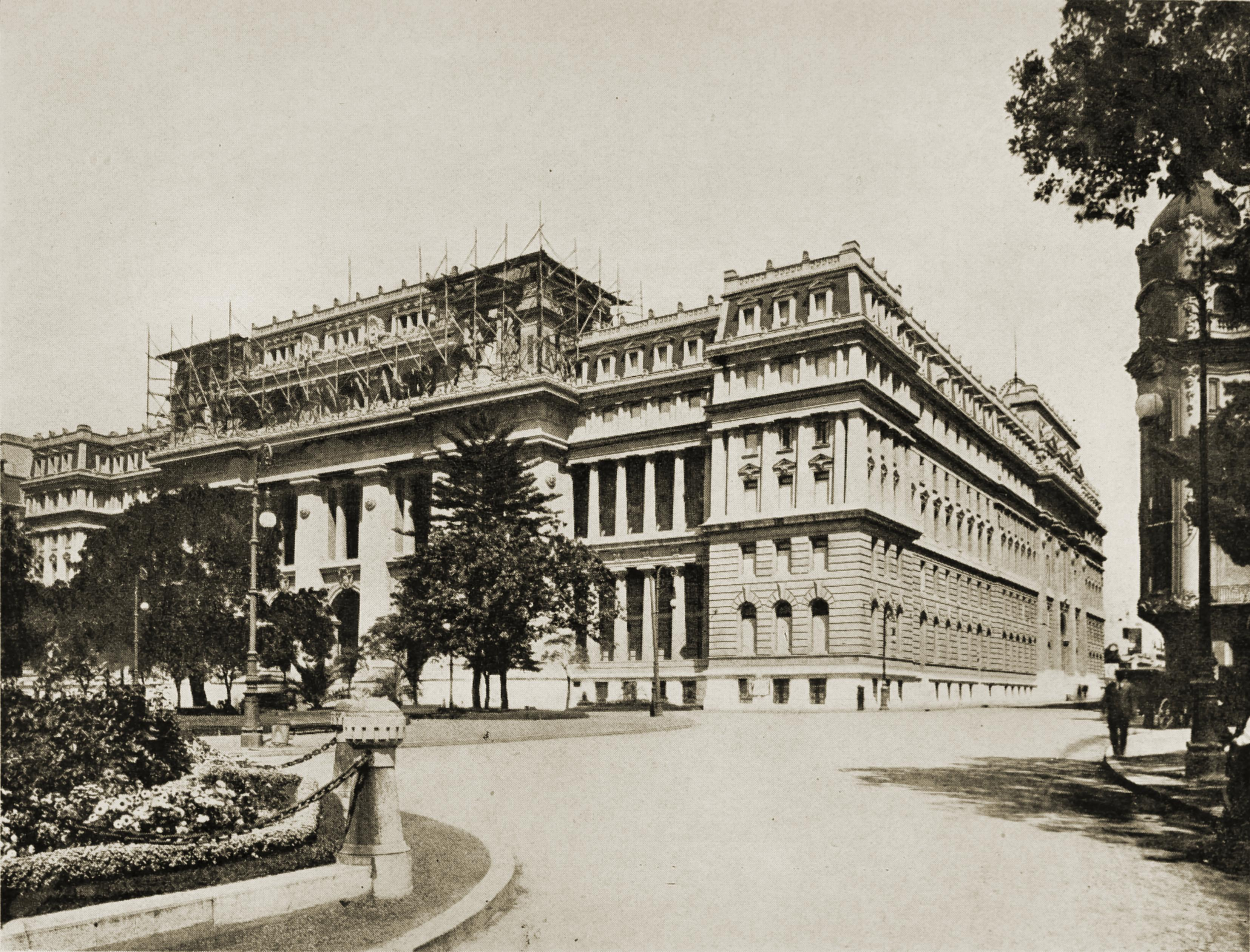 Tribunales (Palace of Justice), Buenos Aires, Argentina about 1917
