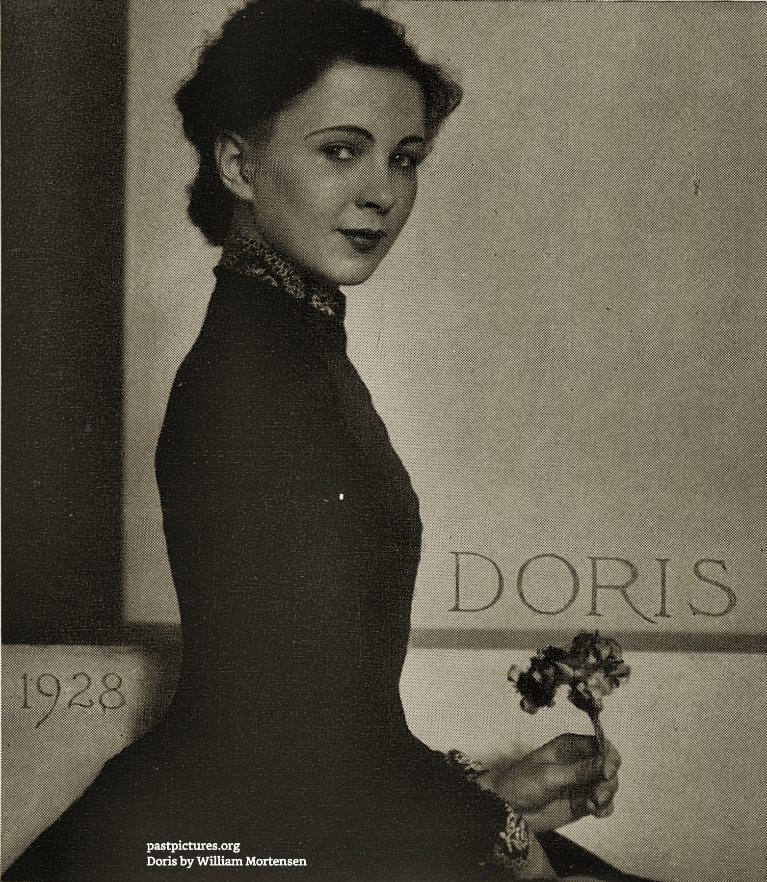 Doris by William Mortensen 1928