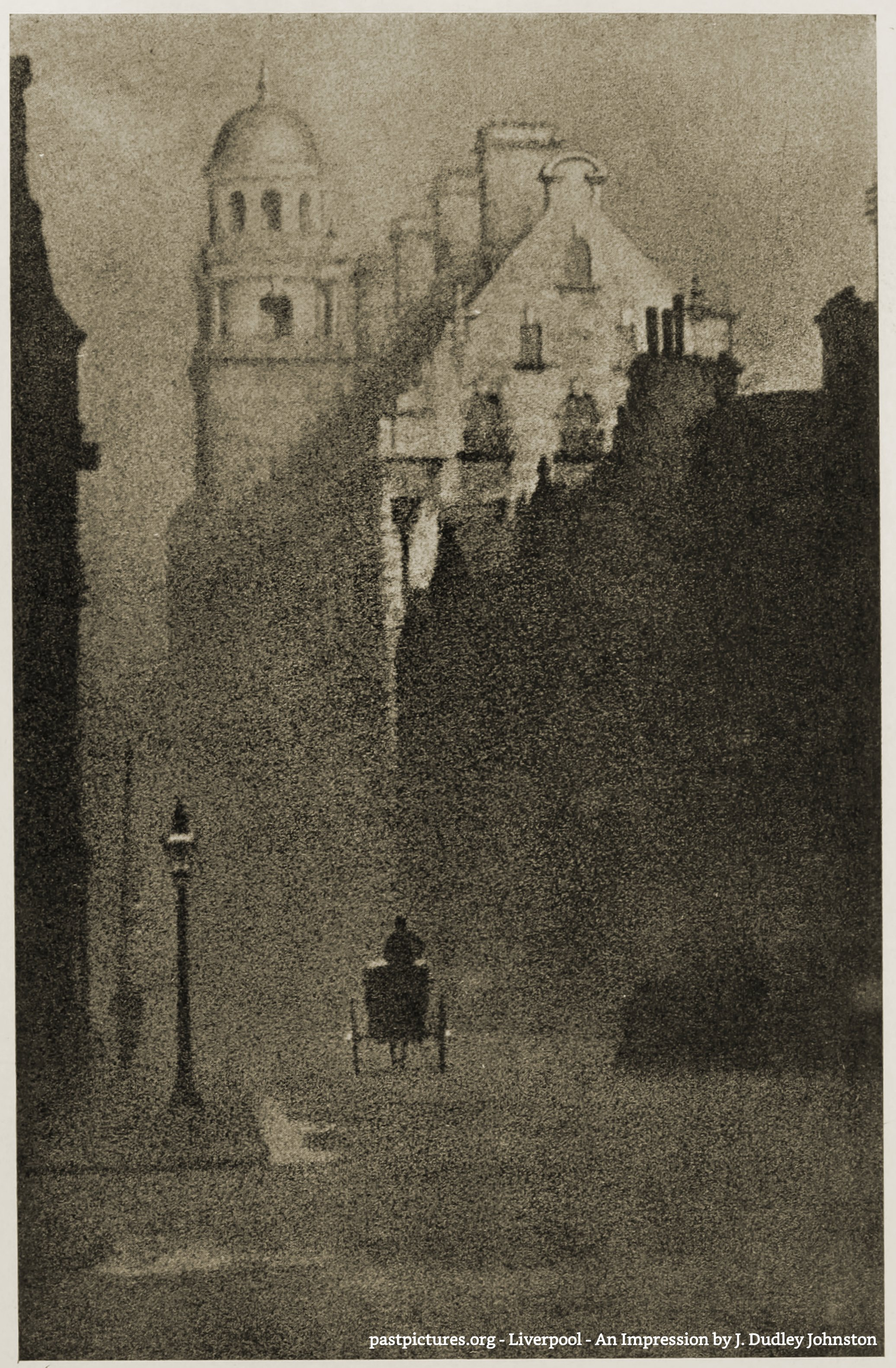 Liverpool – An Impression by J. Dudley Johnston 1906