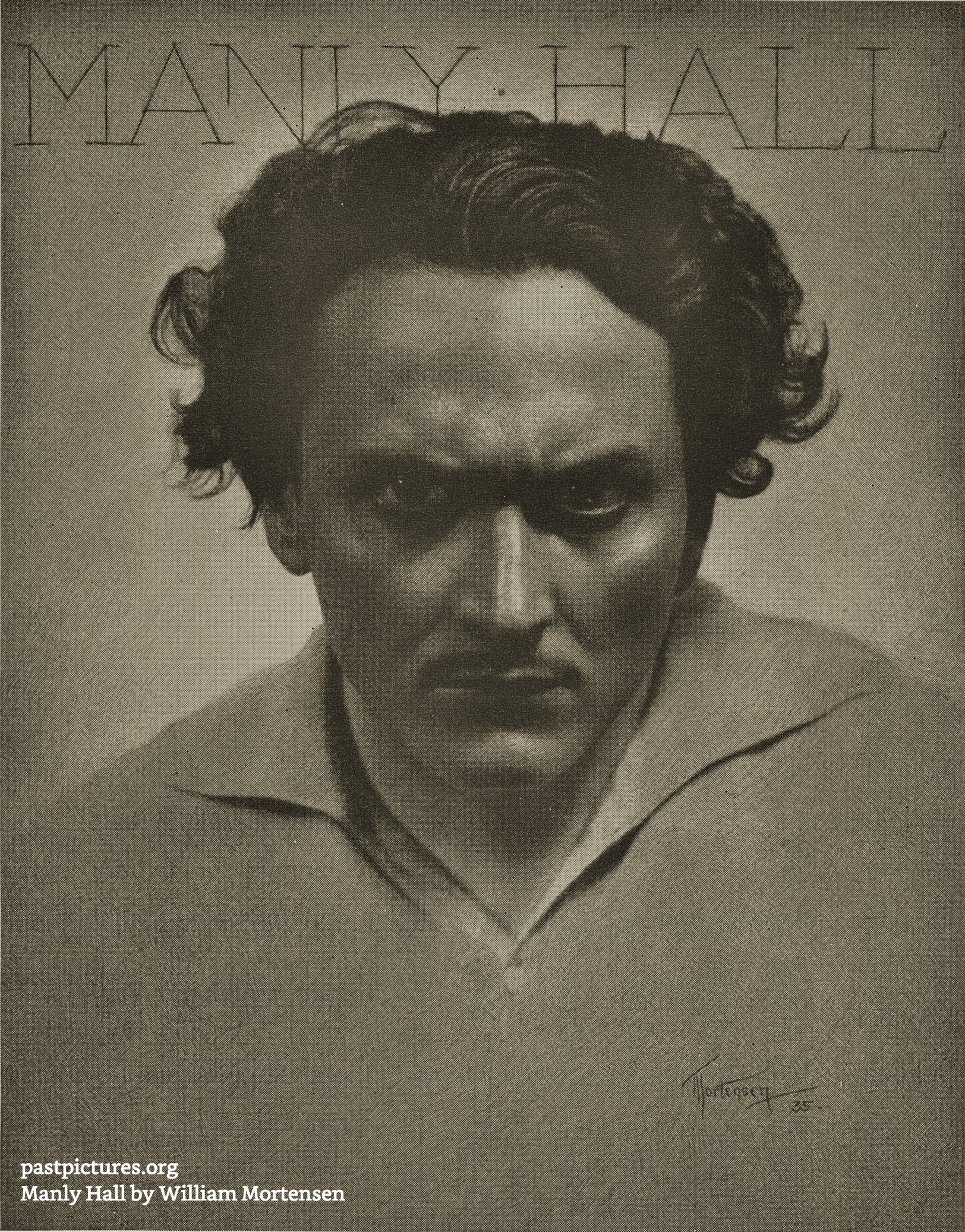 Manly Hall by William Mortensen 1935