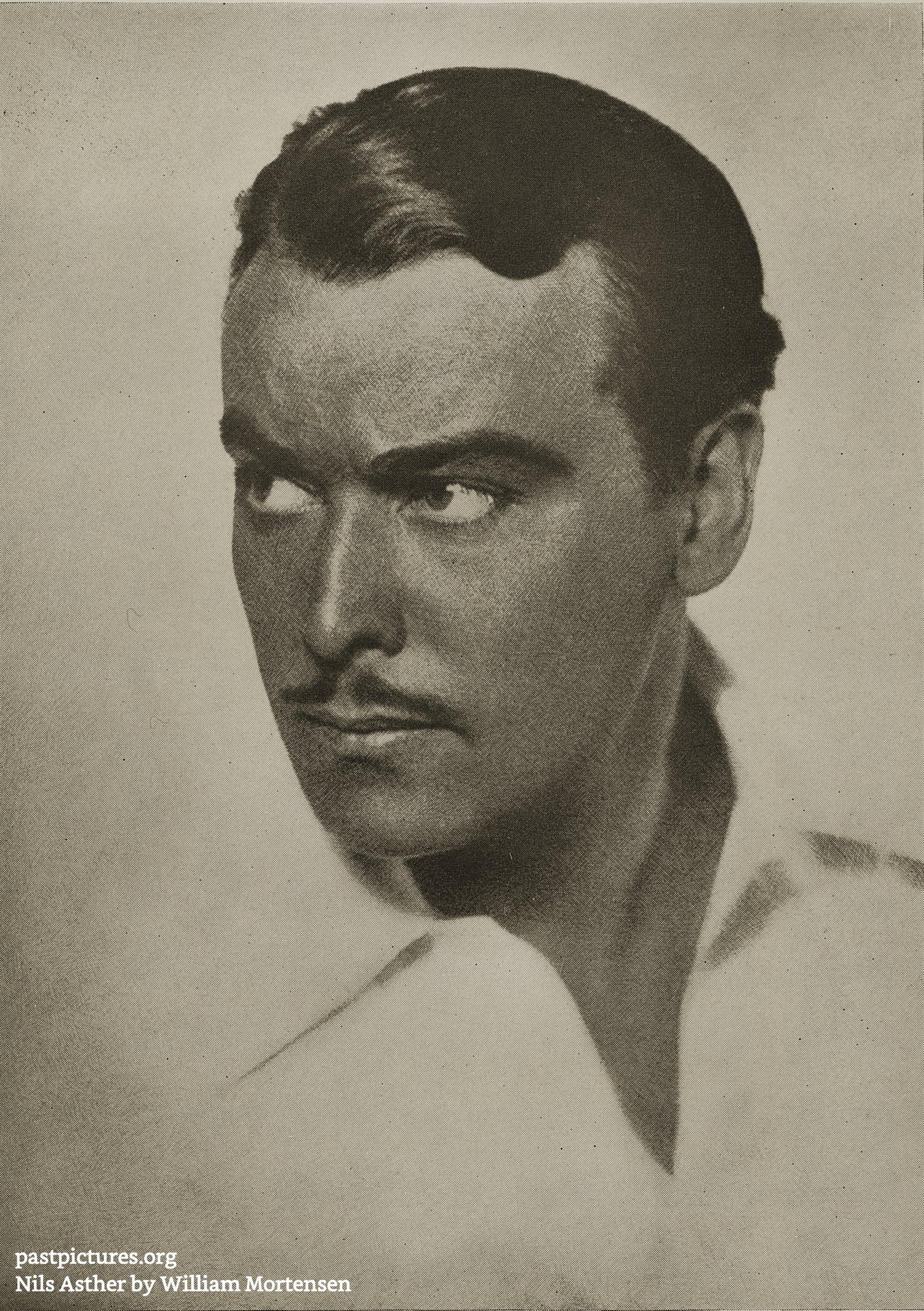 Nils Asther by William Mortensen about 1935