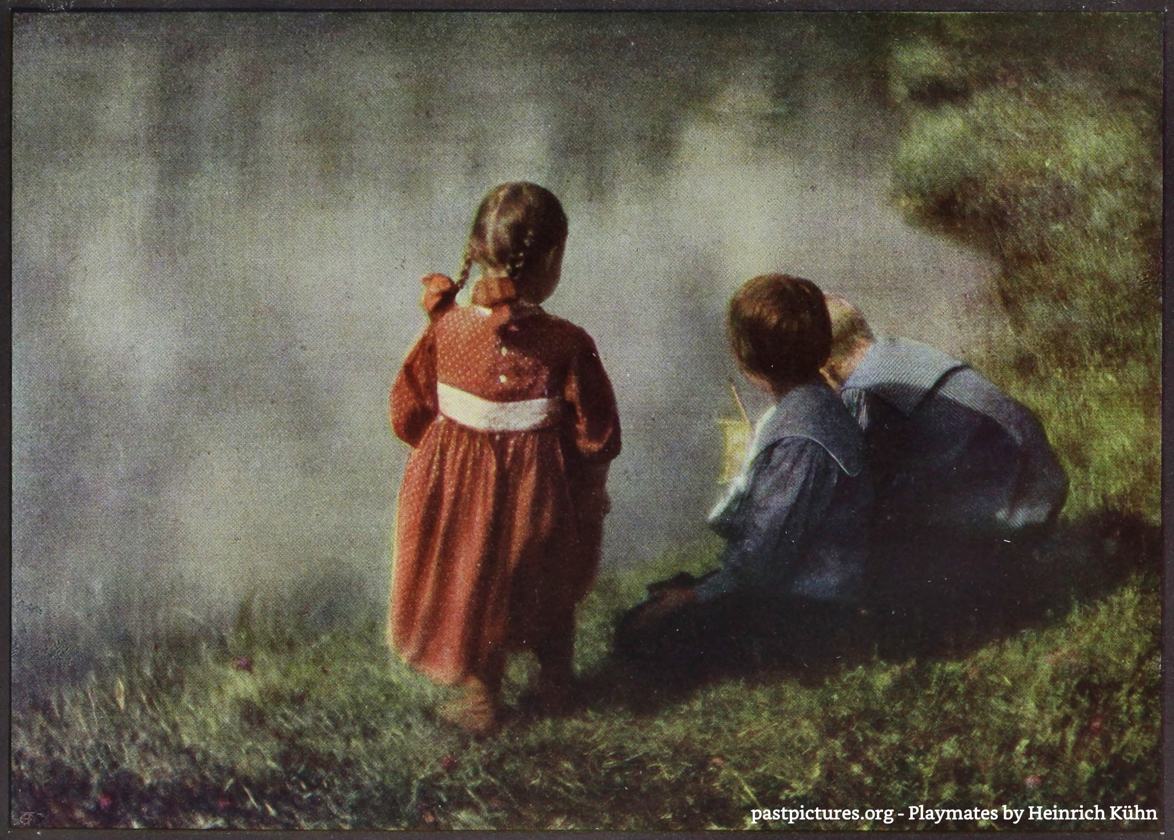 Playmates by Heinrich Kühn 1907