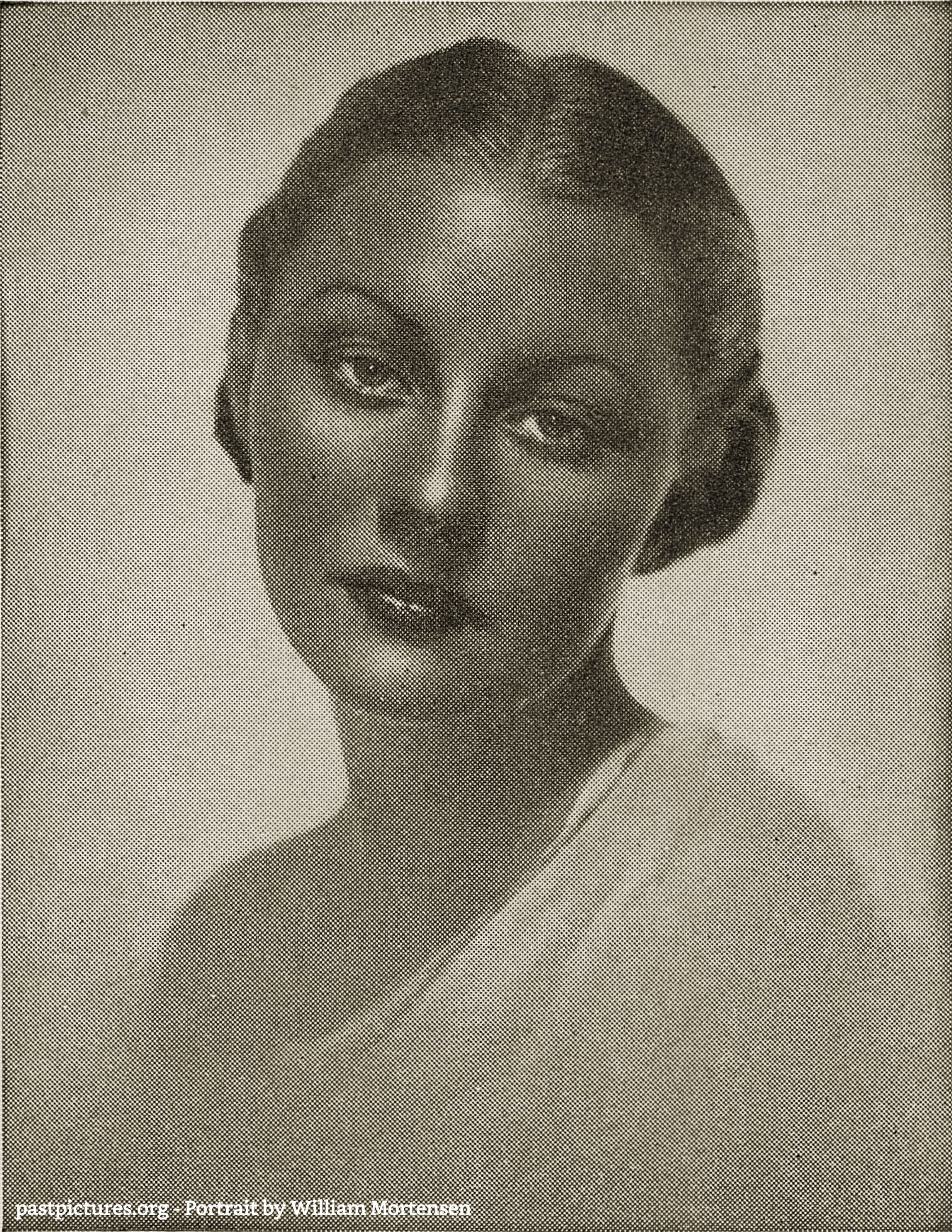 Portrait by William Mortensen about 1930