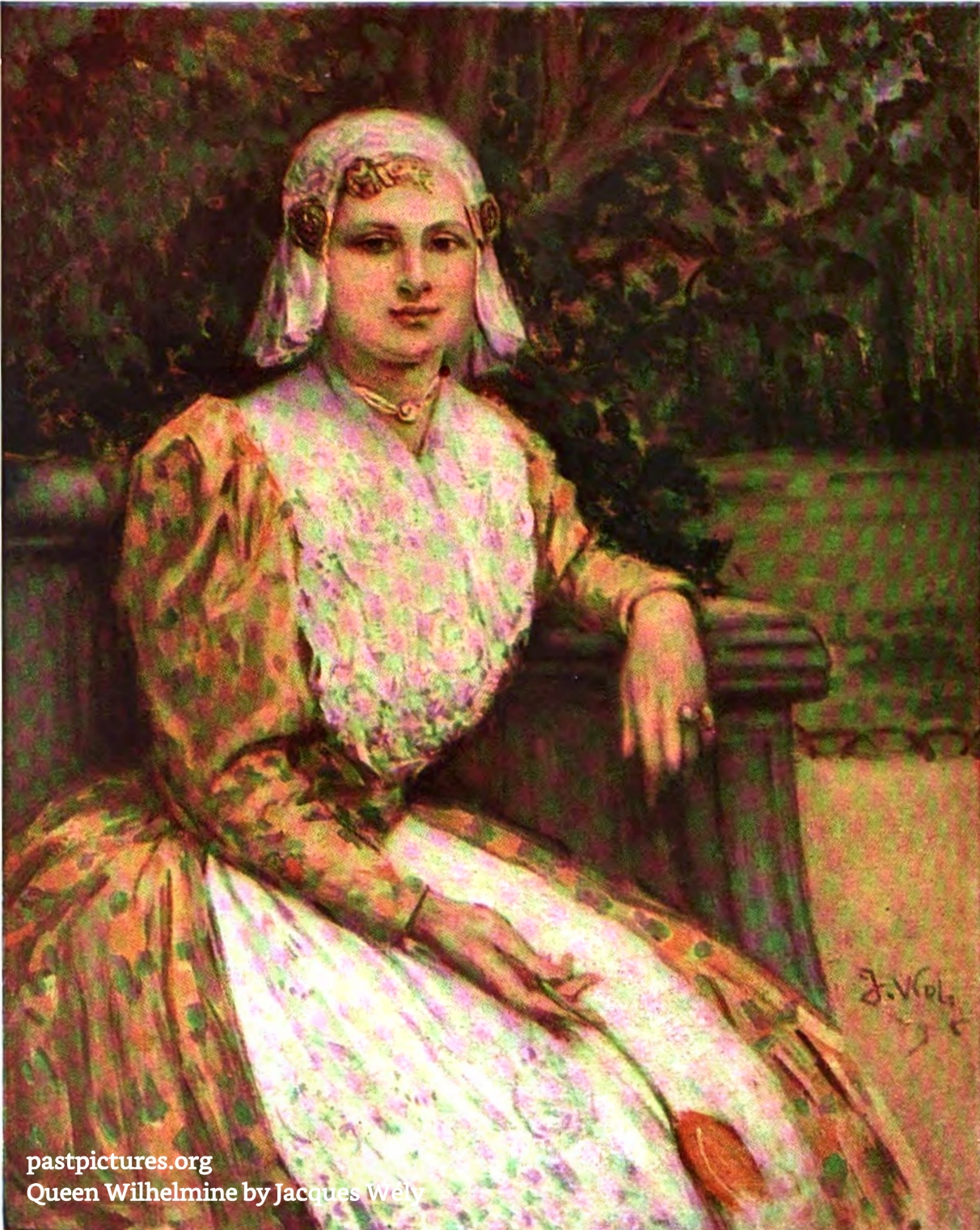 Queen Wilhelmina by Jacques Wély 1906