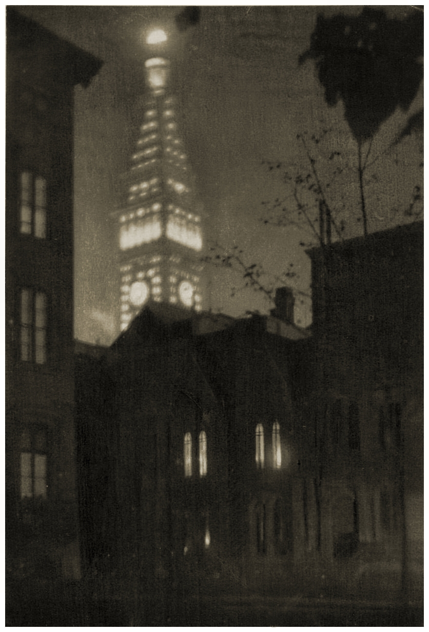 The Metropolitan Tower, New York by Paul Lewis Anderson 1909