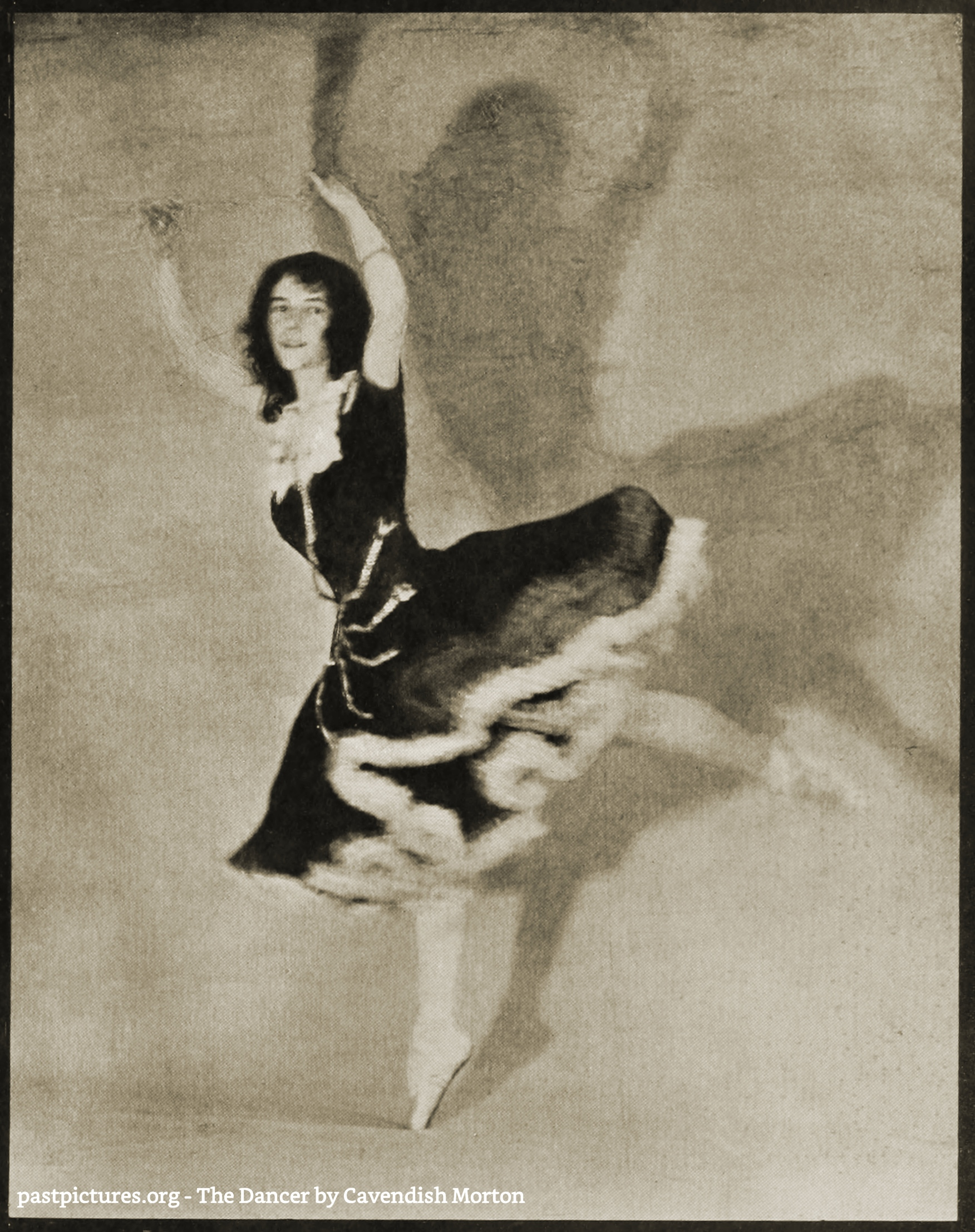 The Dancer by Cavendish Morton about 1908