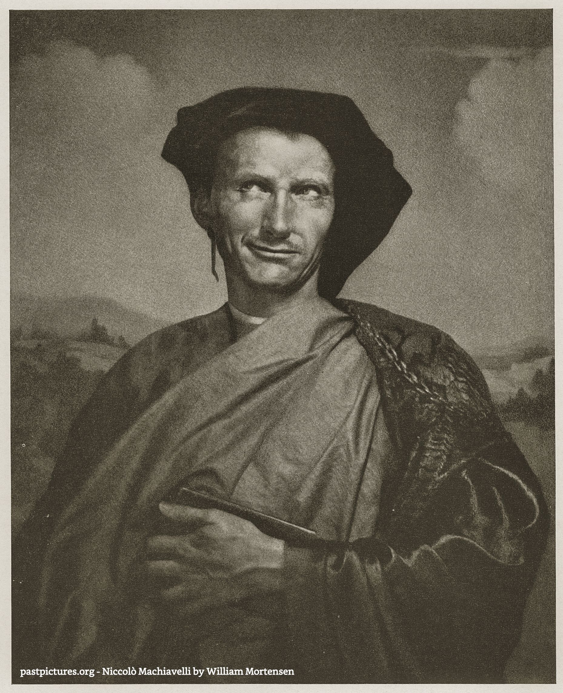 Niccolò Machiavelli by William Mortensen about 1930