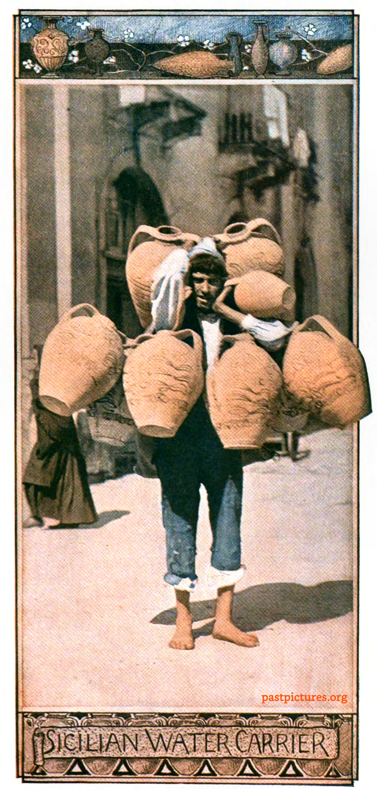 Sicilian Water Carrier about 1905