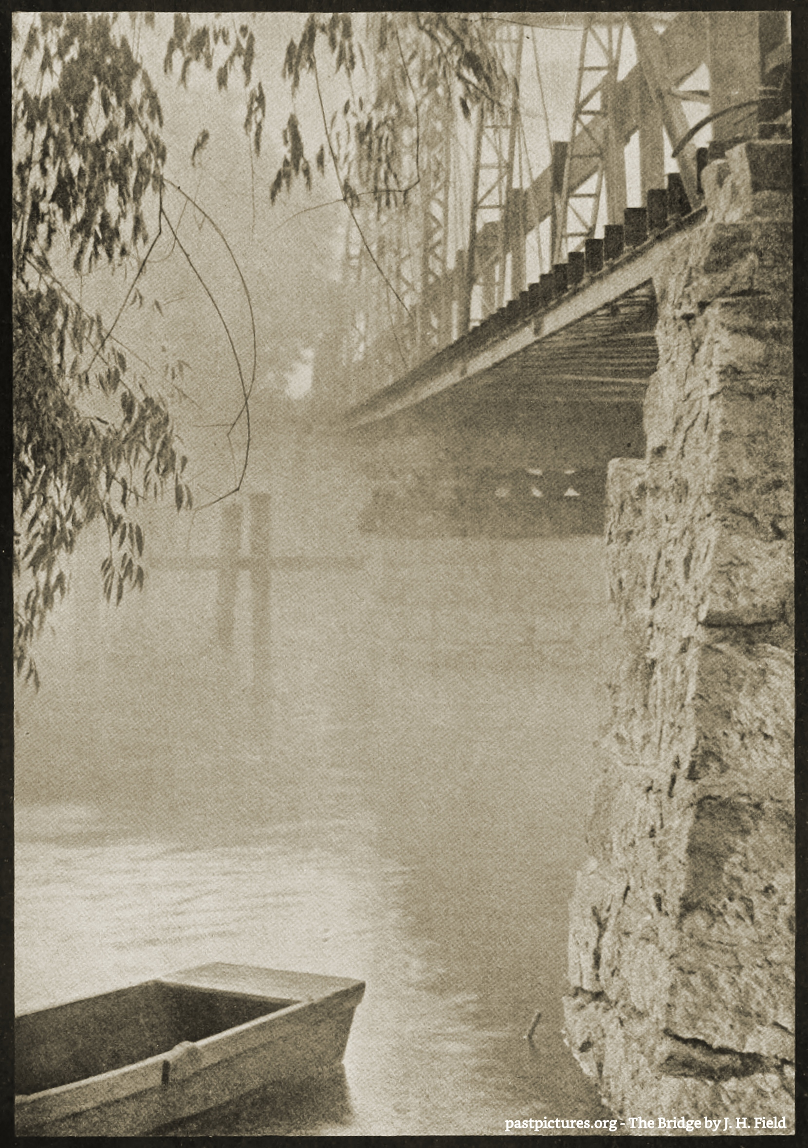 The Bridge by J. H. Field about 1908