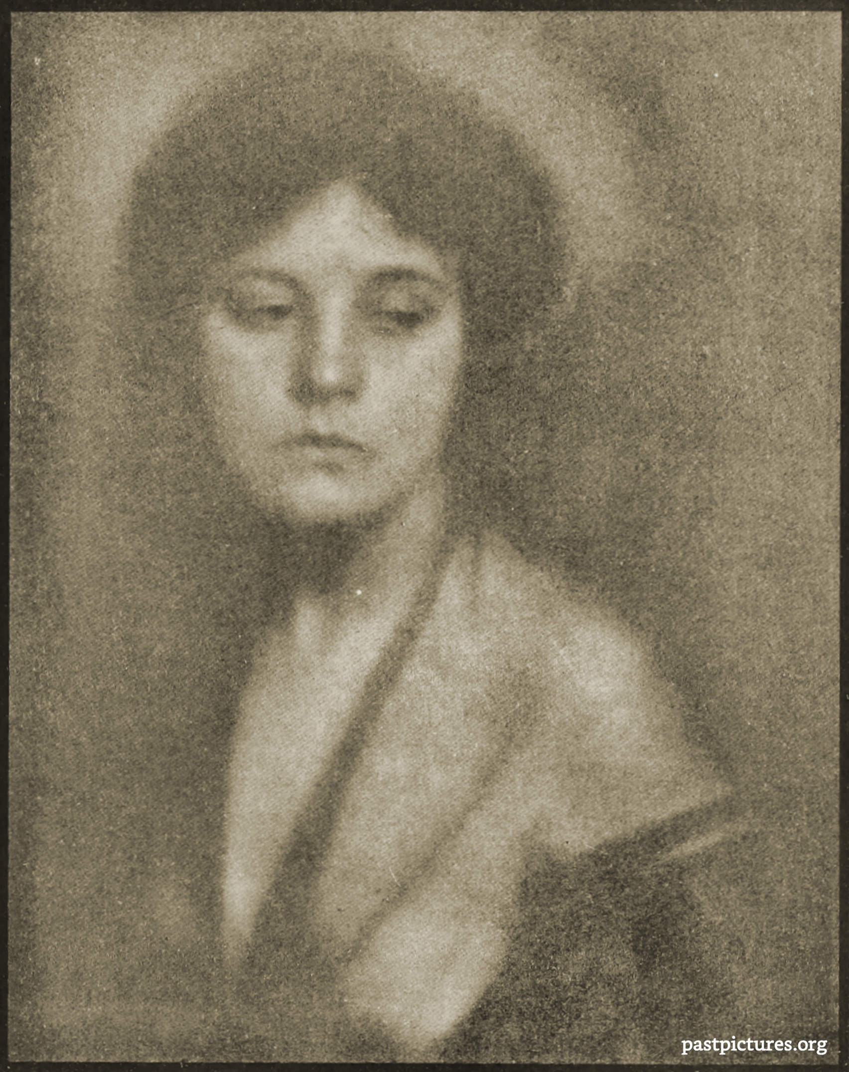 Miss Mabel C. – Study by Alfred Stieglitz and Clarence Hudson White 1906
