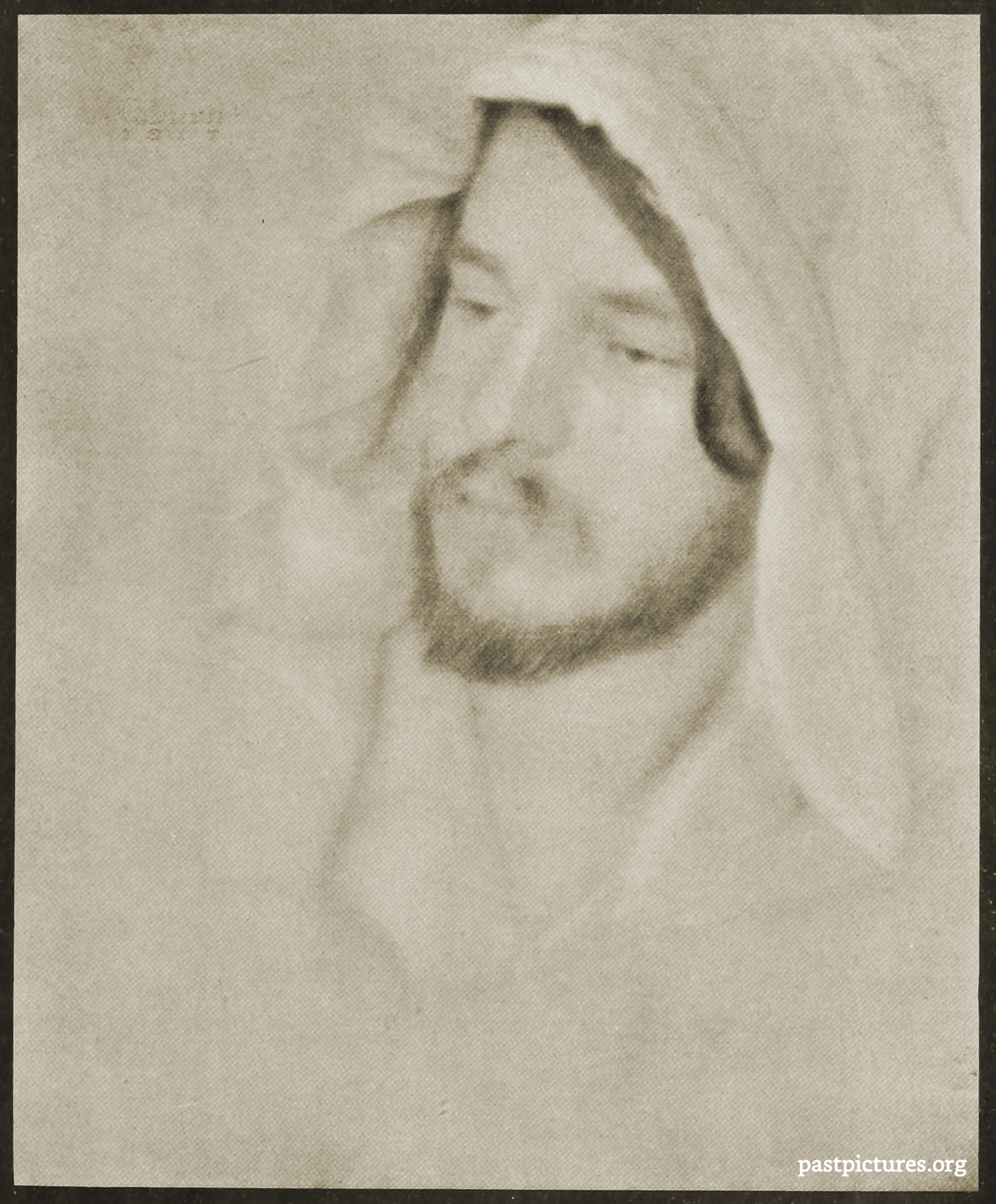 Portrait of Alvin Langdon Coburn by Clarence Hudson White 1907